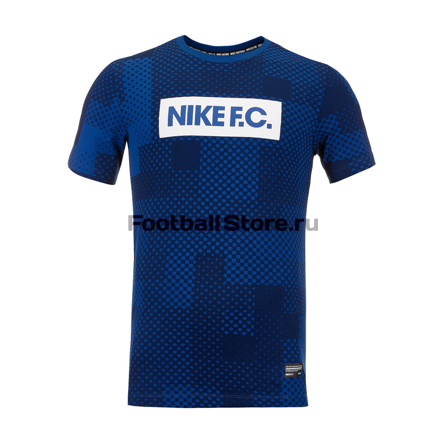 Футболка Nike F.C. Dry Tee Block AV5313-438 недорго, оригинальная цена