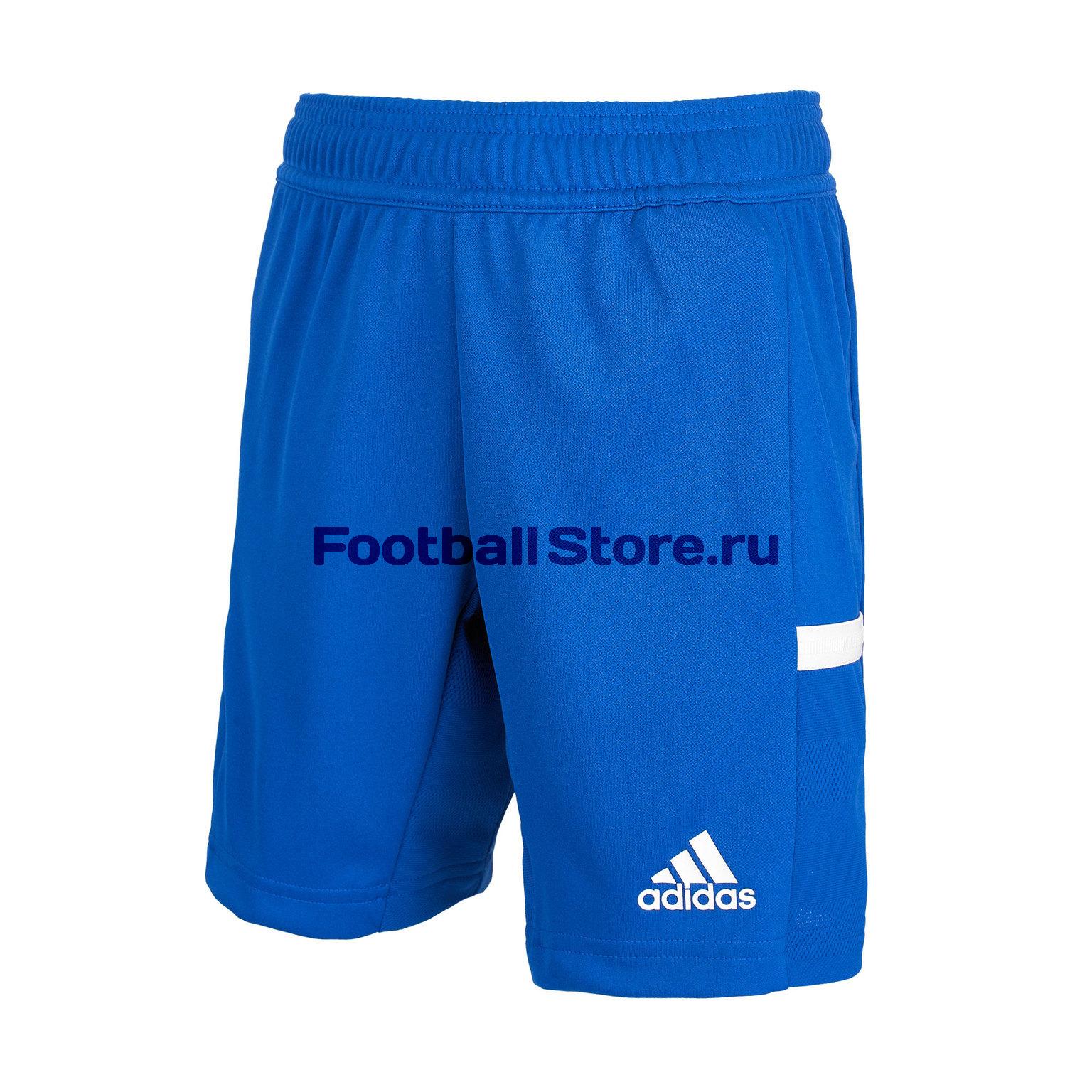 Шорты подростковые Adidas T19 Short DY8870 шорты для единоборств adidas training short mma черно желтые adimmas01