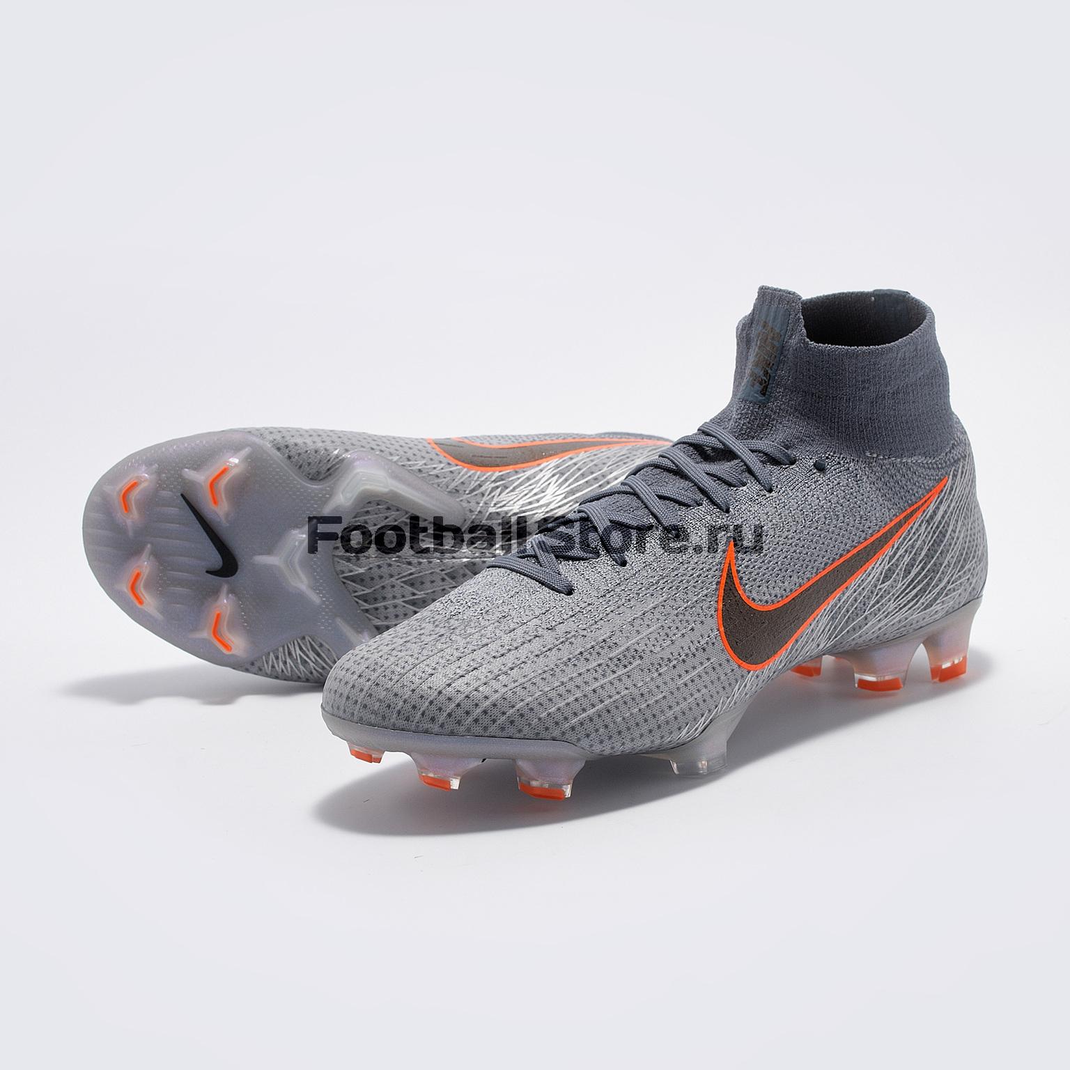 Бутсы Nike Superfly 6 Elite FG AH7365-008 цена