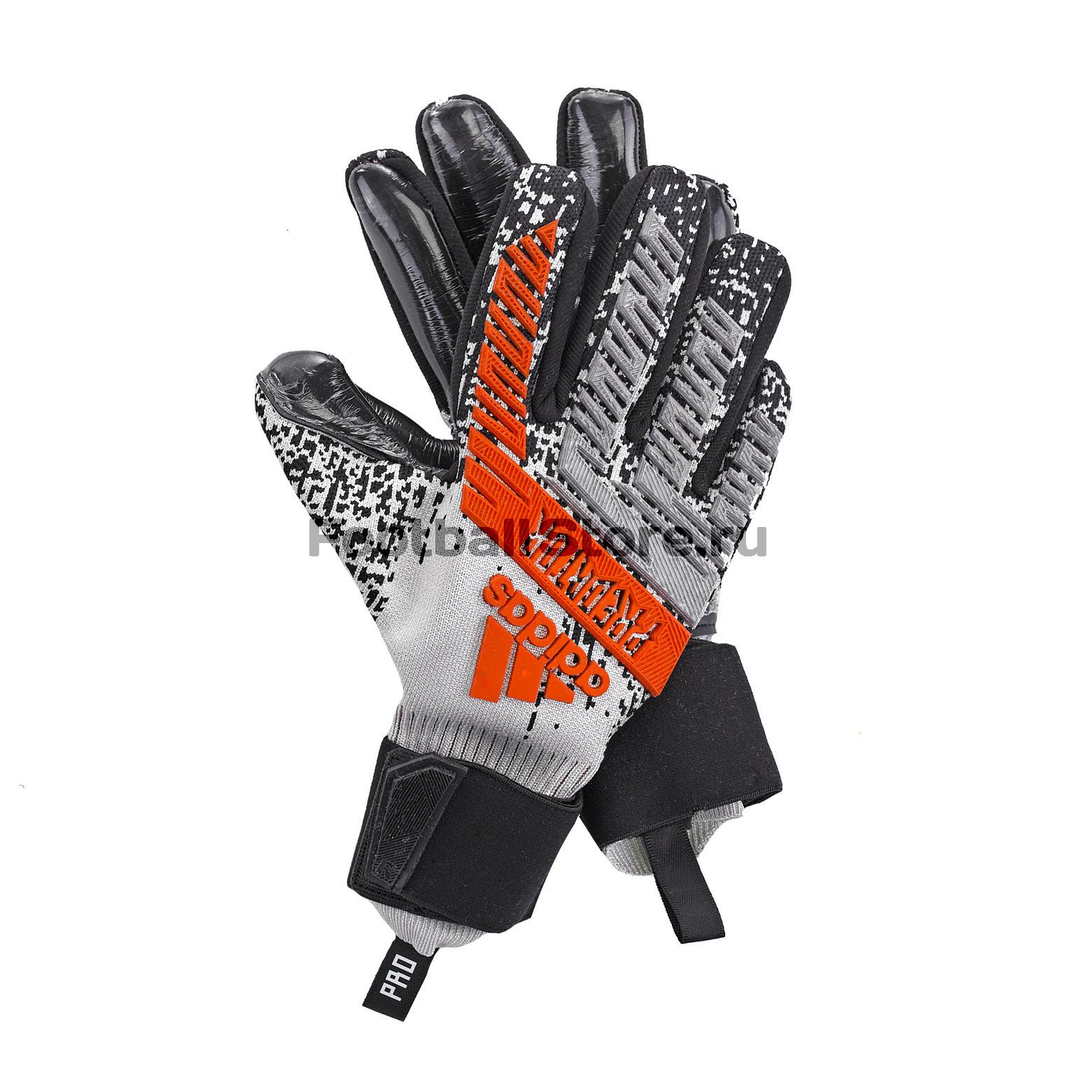 купить Перчатки вратарские Adidas Predator Pro DY2594 недорого