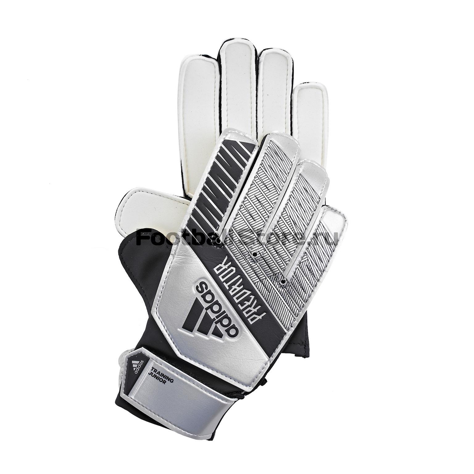 Перчатки вратарские детские Adidas Predator Training DY2609 перчатки вратарские adidas classic lite ap7011