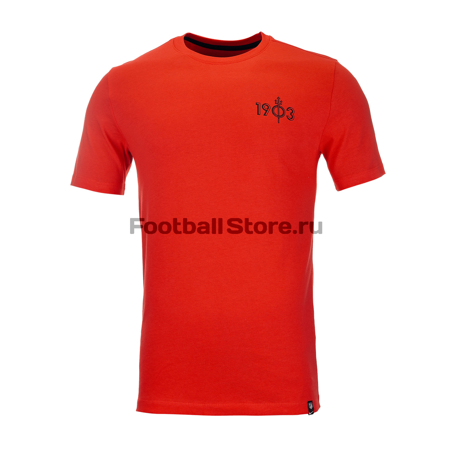 все цены на Футболка хлопковая Nike Atletico Madrid AQ7518-600 онлайн