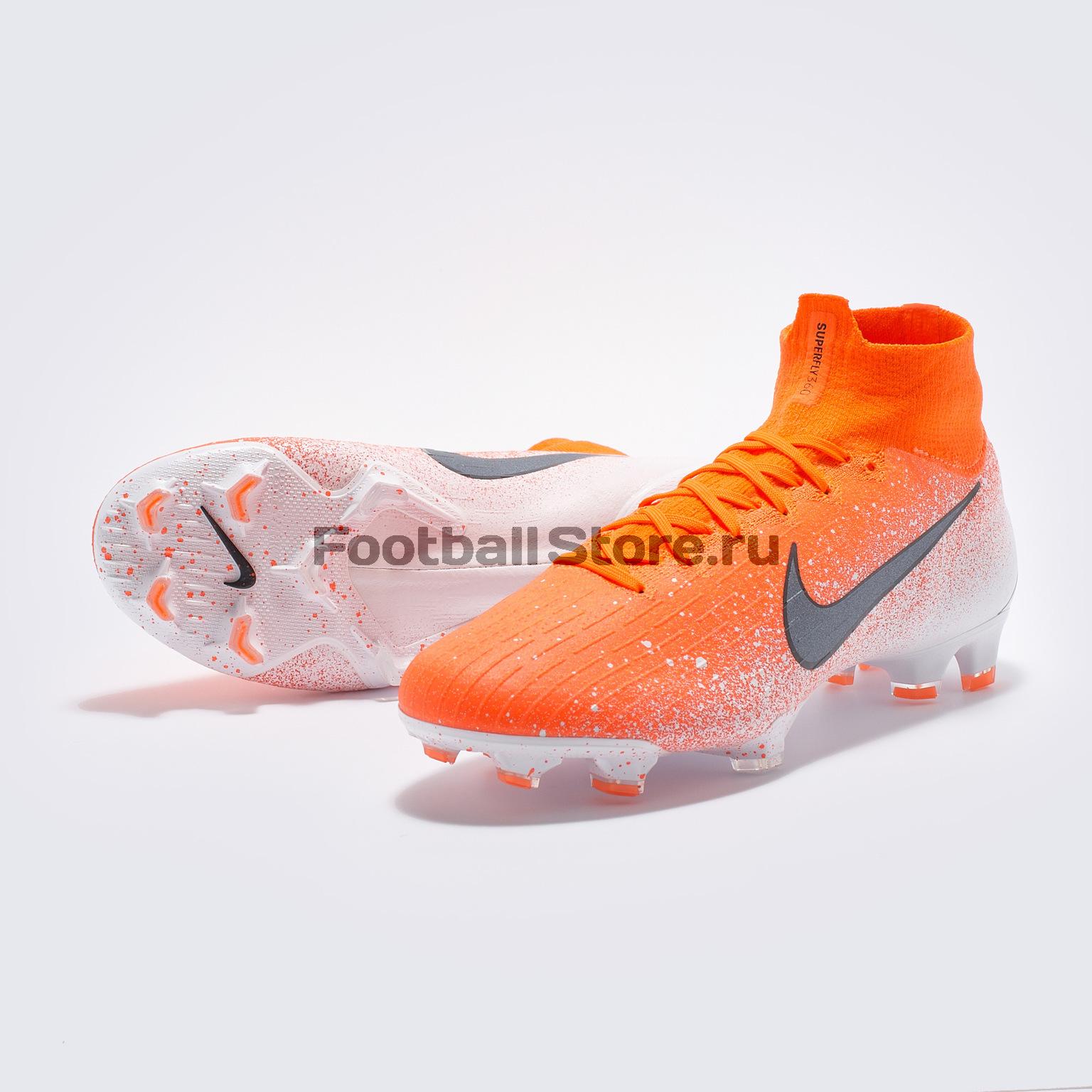 Бутсы Nike Superfly 6 Elite FG AH7365-801 бутсы nike superfly 6 elite fg ah7365 001