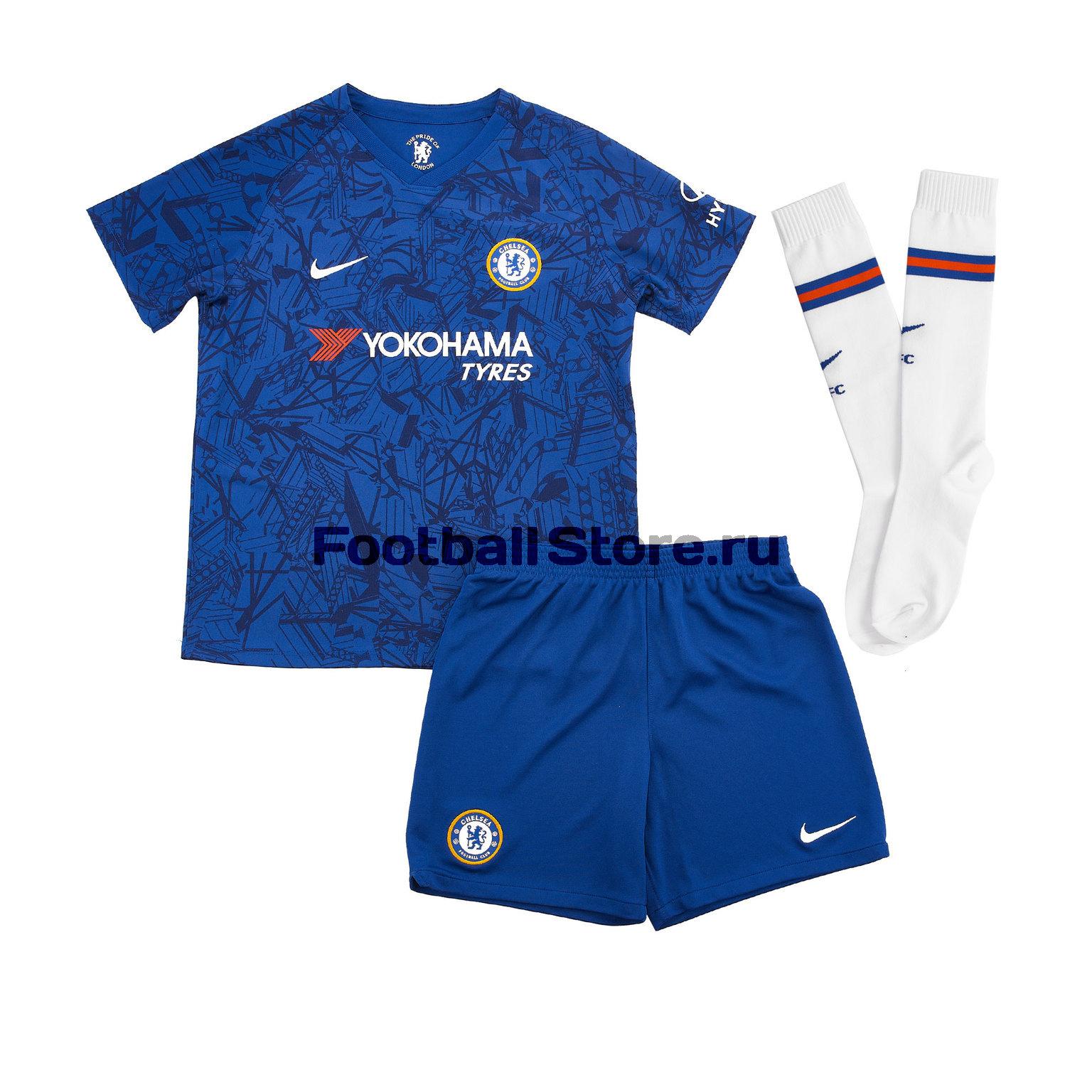 Комплект детской формы Nike Chelsea Home 2019/20 цена и фото