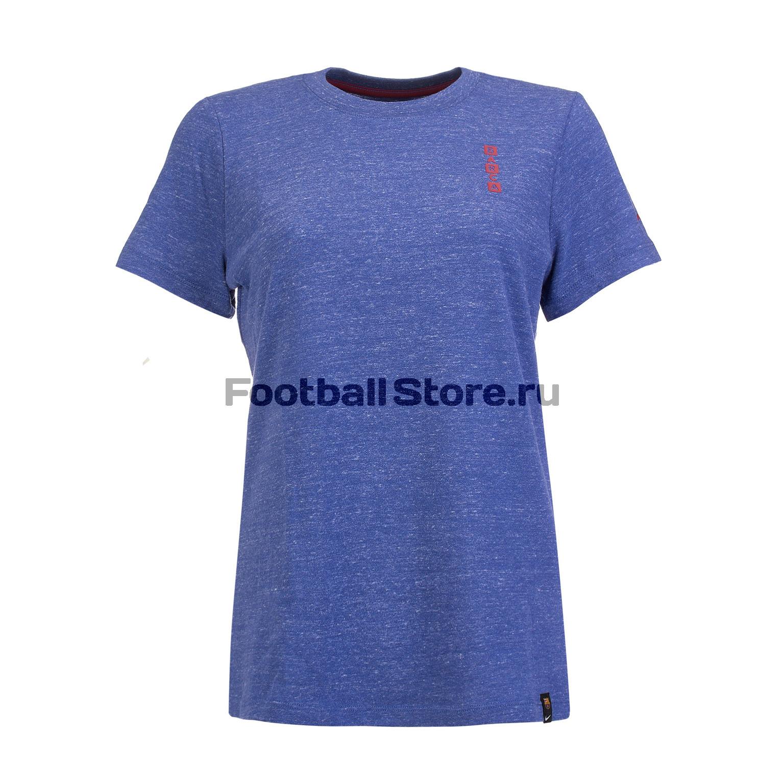 Футболка хлопковая женская Nike Barcelona AQ7436-455