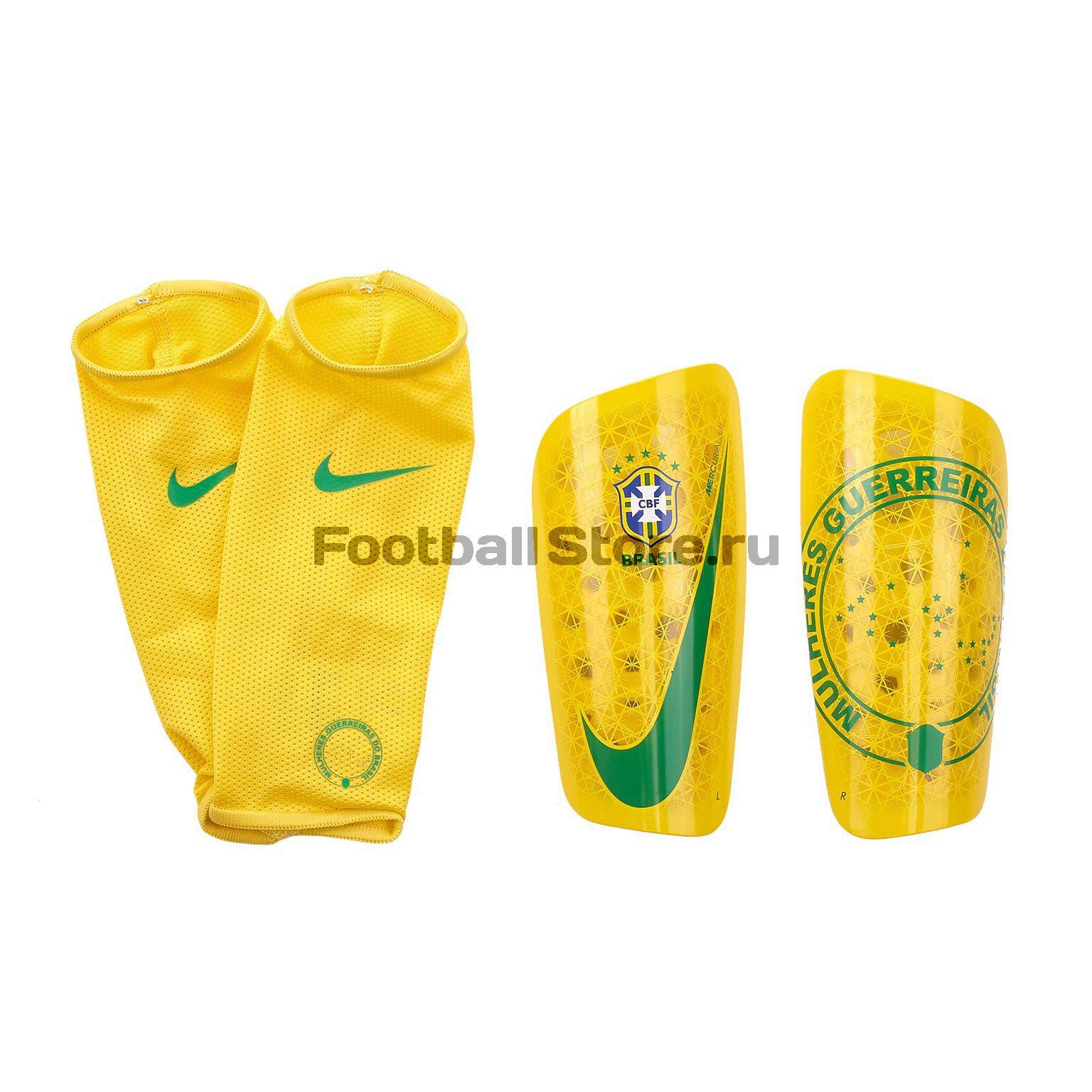 Щитки Nike сборной Бразилии SP2180-749 брюки тренировочные nike сборной бразилии 893122 454