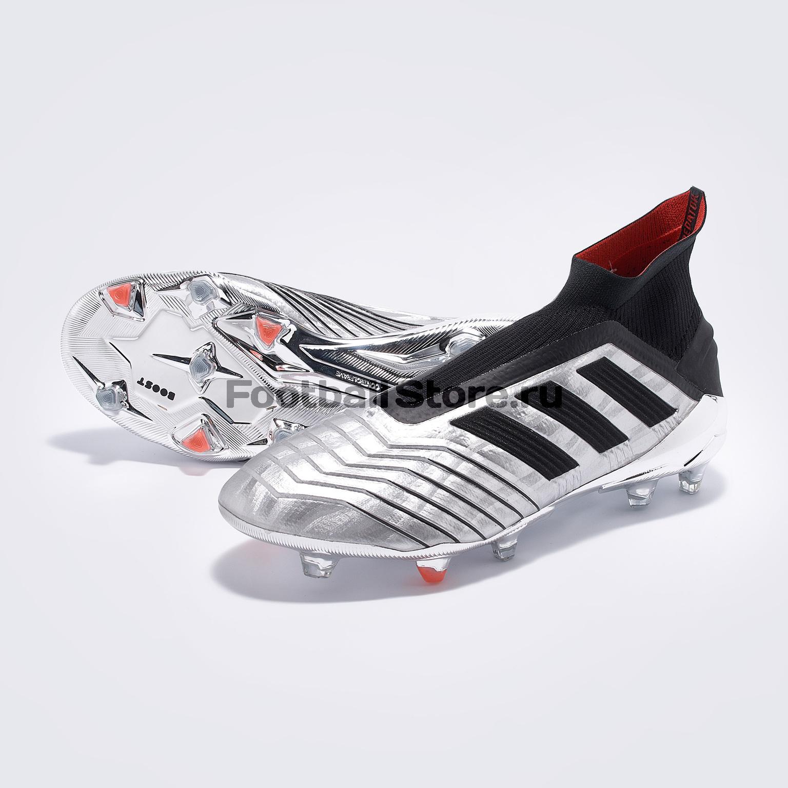 Бутсы Adidas Predator 19+ FG F35611 цена