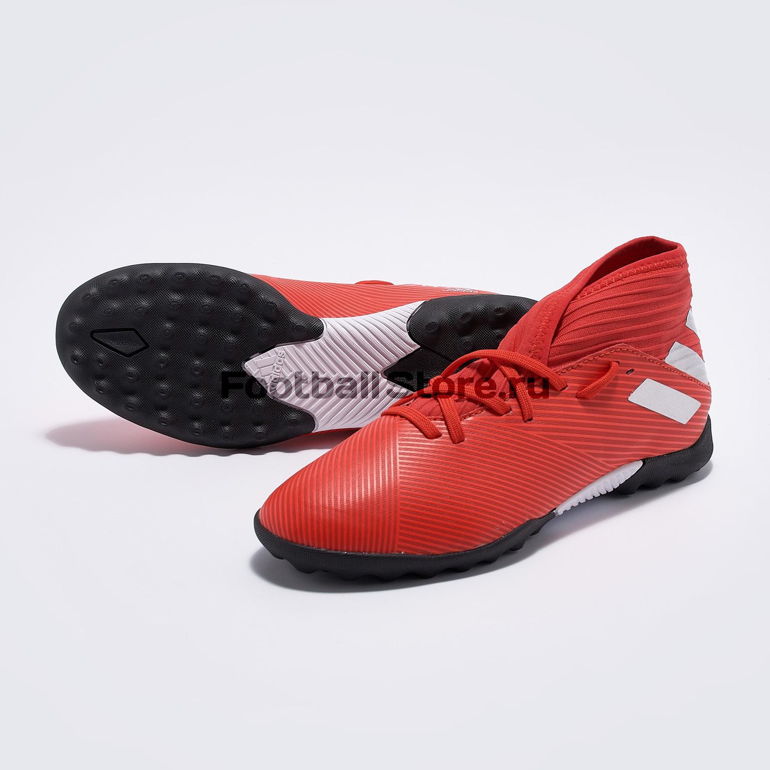 Шиповки детские Adidas Nemeziz 19.3 TF F99941 шиповки детские adidas x tango 18 3 tf db2422
