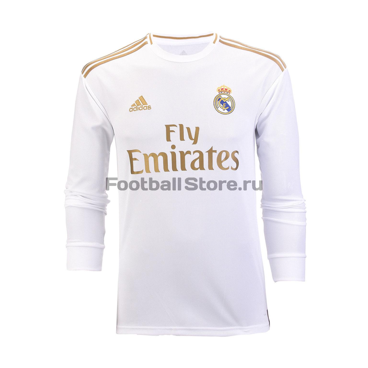 Футболка игровая домашняя Adidas Real Madrid 2019/20 цена