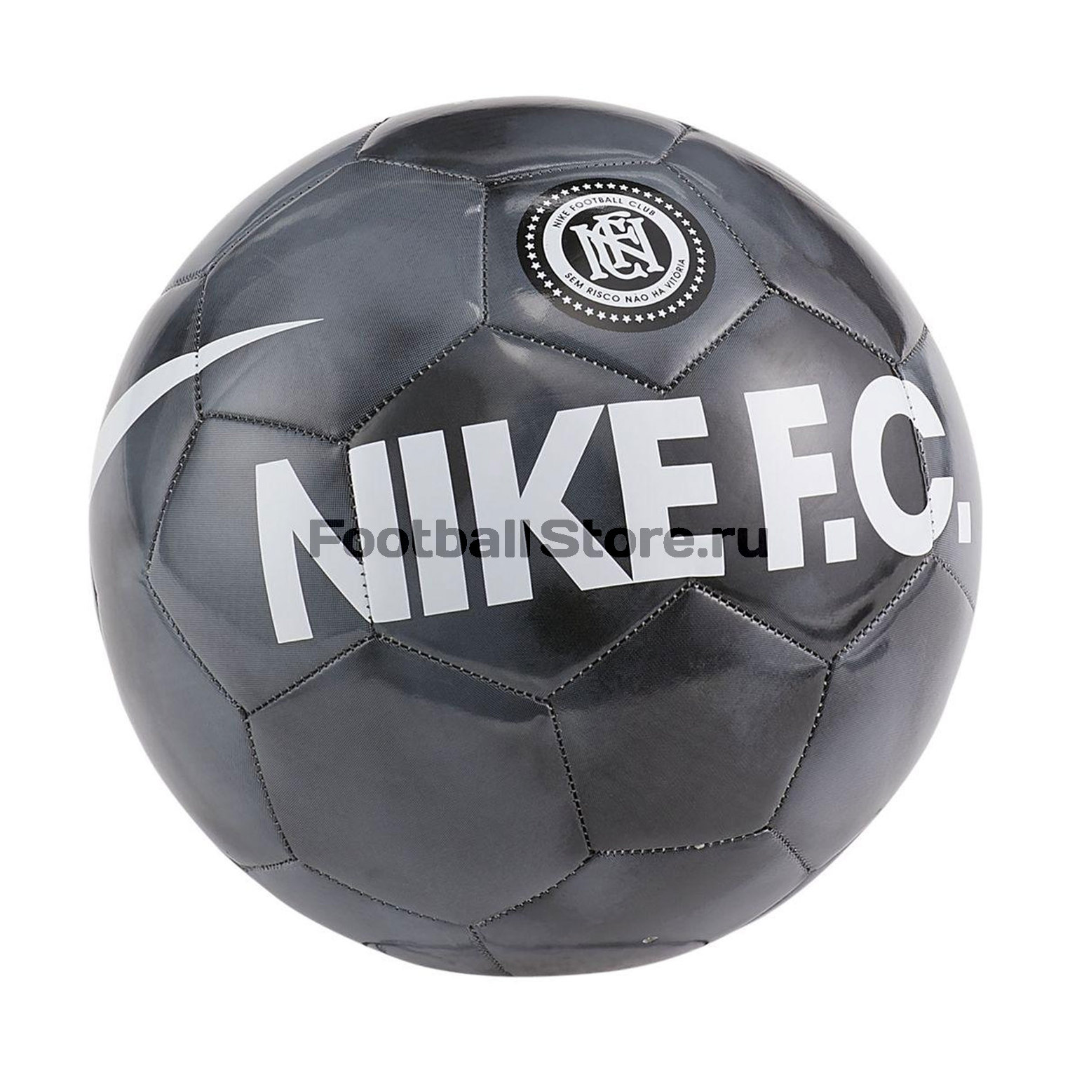 Футбольный мяч Nike F.C. SC3973-010 цена 2017