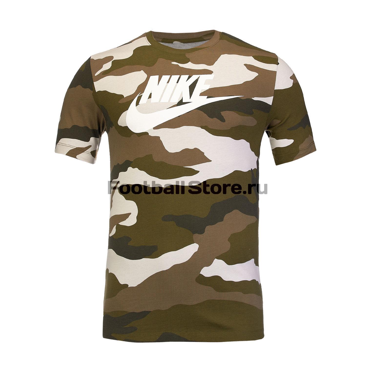 Футболка хлопковая Nike Tee Camo BV7674-072 футболка хлопковая nike tee club19 ss aj1504 451