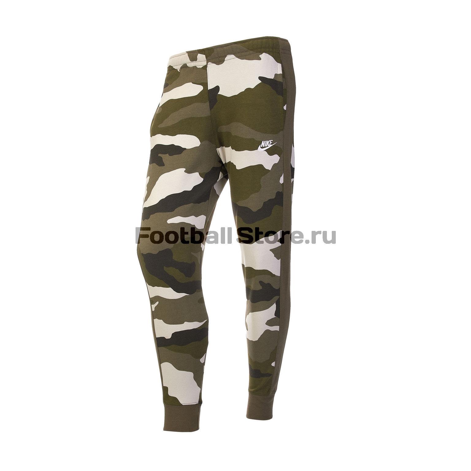 Брюки Nike Club Jogger Camo BV2823-222 drawstring spliced camo jogger pants