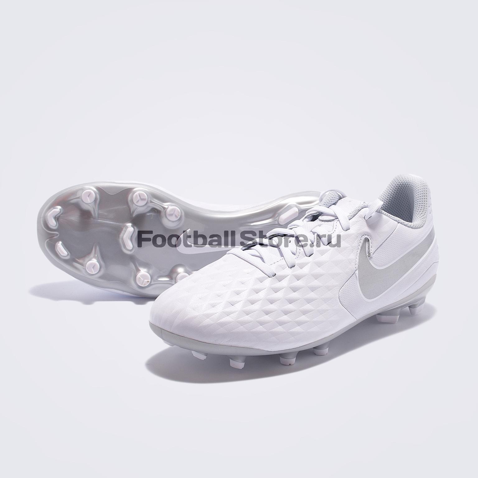 Бутсы детские Nike Legend 8 Academy FG/MG AT5732-100 бутсы детские nike vapor 12 academy ps fg mg aj3090 390