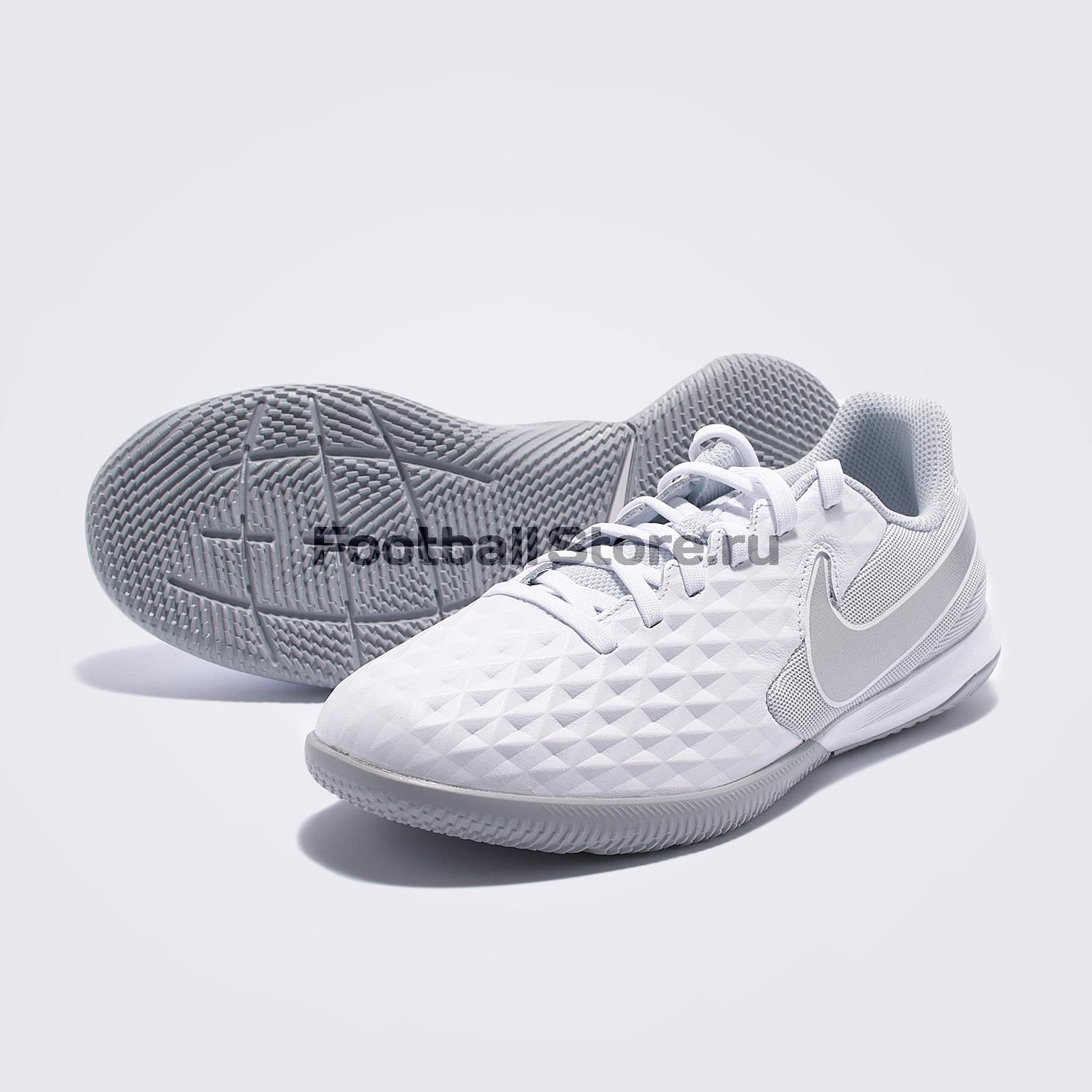 Футзалки детские Nike Legend 8 Academy IC AT5735-100 цена и фото