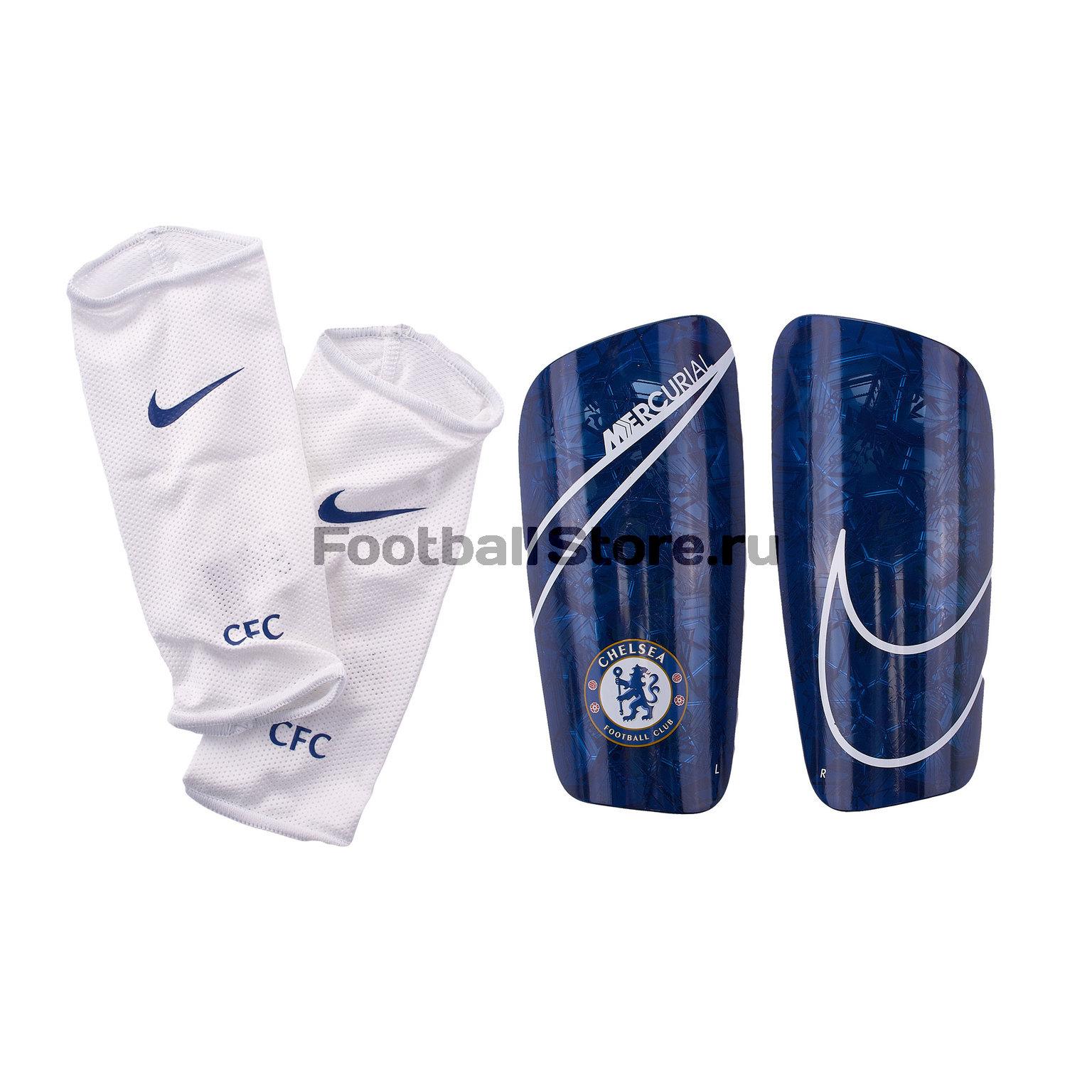 Щитки Nike Chelsea Mercurial Lite SP2172-495 щитки nike mercurial lite grd sp2120 704