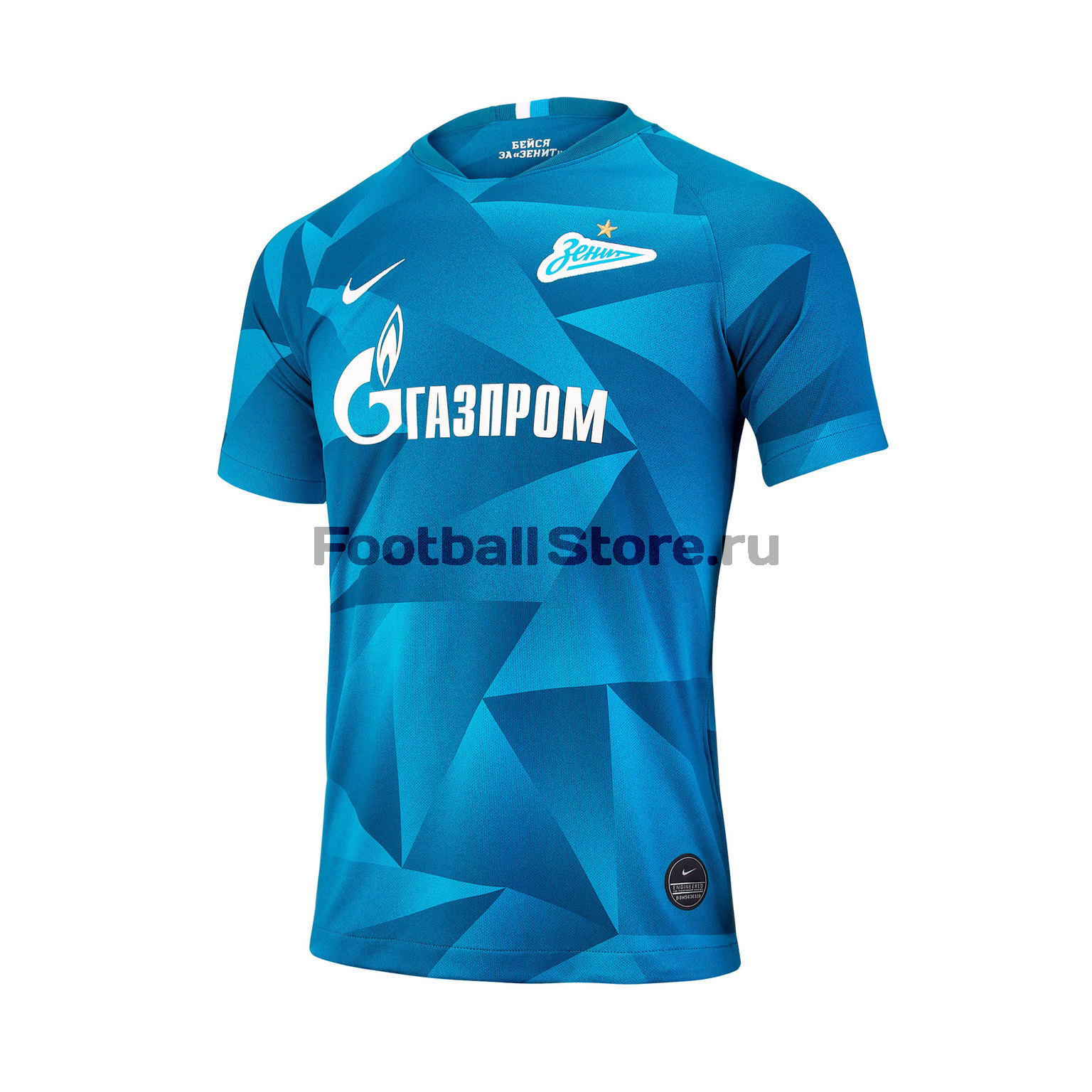 Фото - Подростковая домашняя футболка Nike ФК Зенит 2019/20 выездная игровая футболка nike фк зенит 2019 20