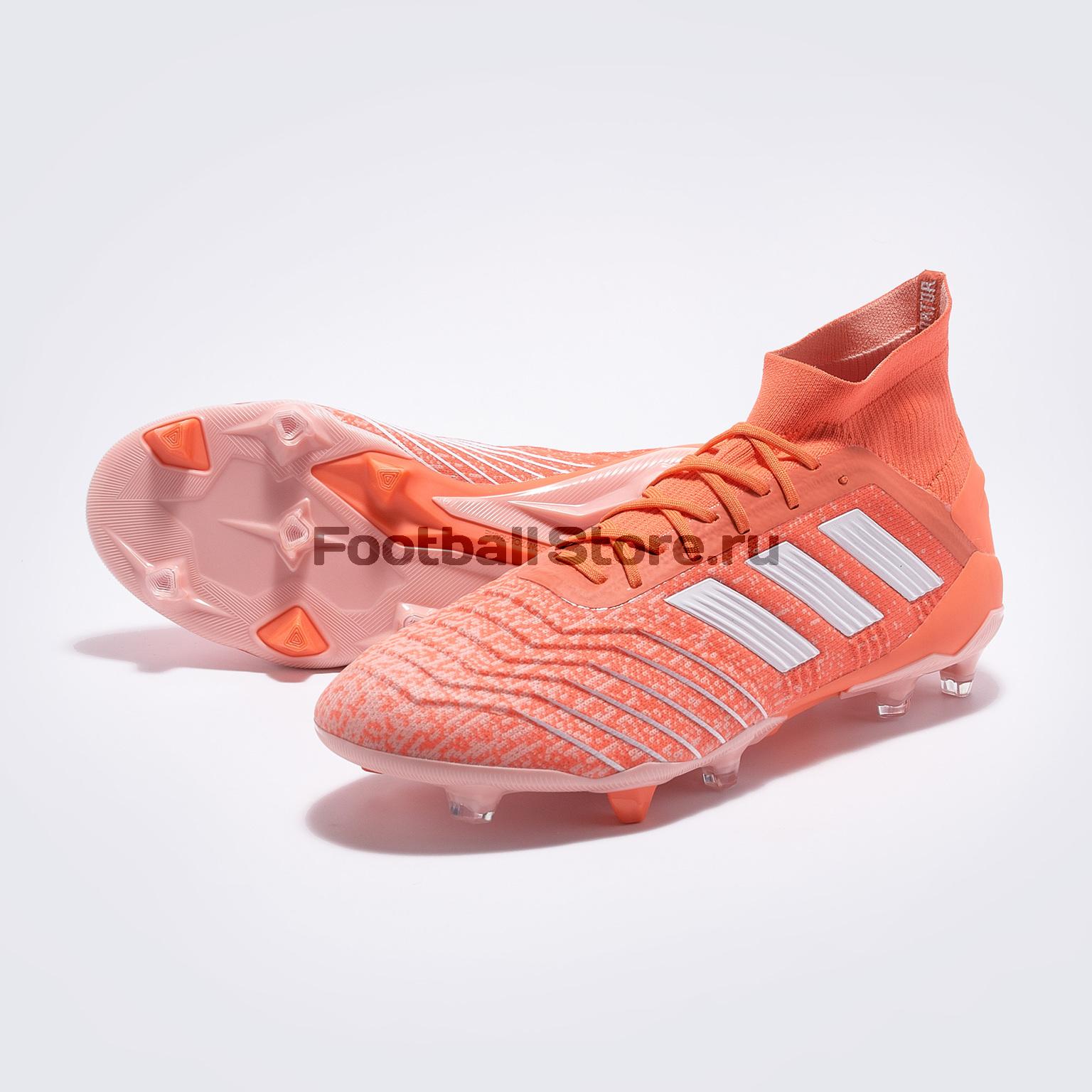Бутсы женские Adidas Predator 19.1 FG W G25820 бутсы adidas predator 18 3 fg db2001