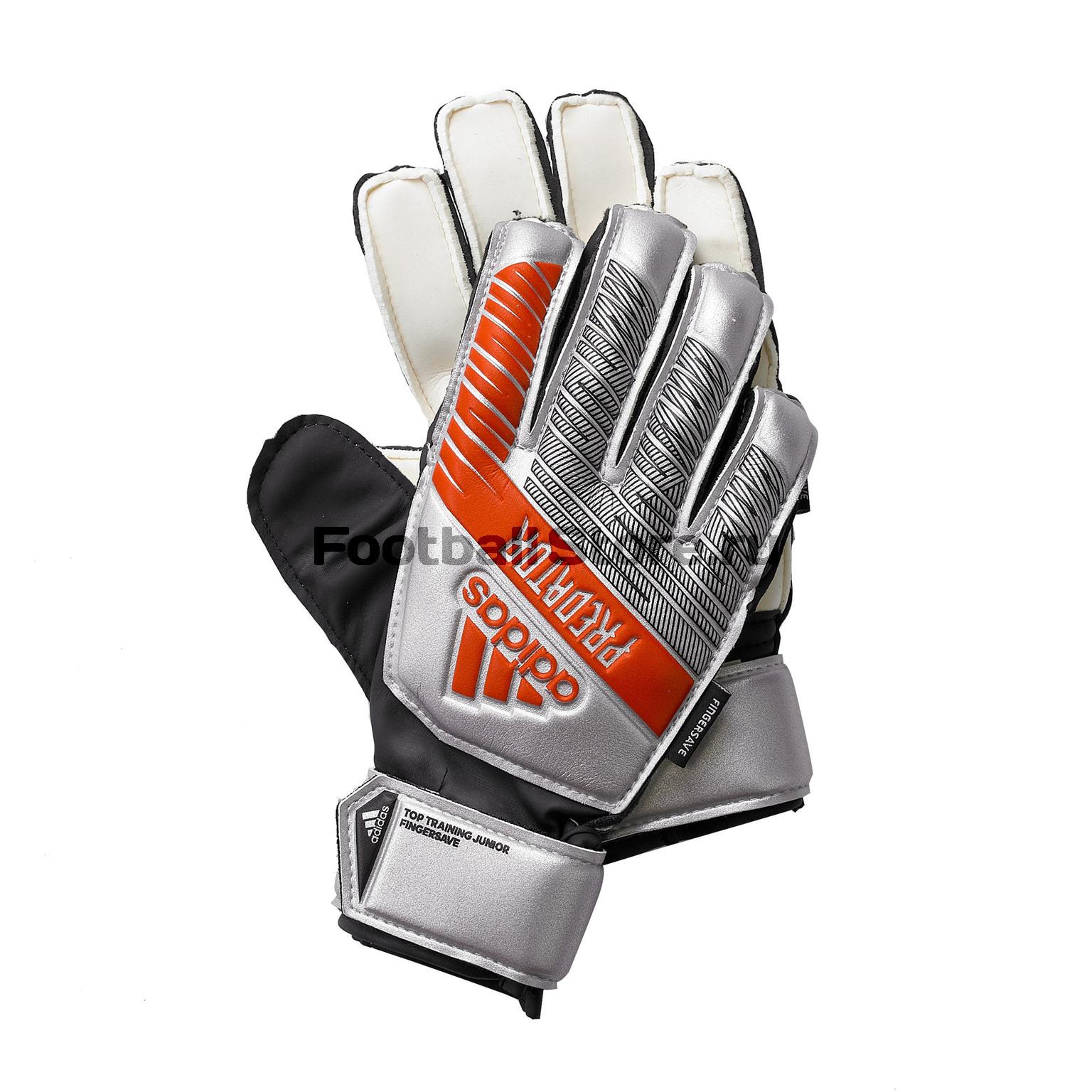 Перчатки вратарские детские Adidas Predator Training FS DY2602