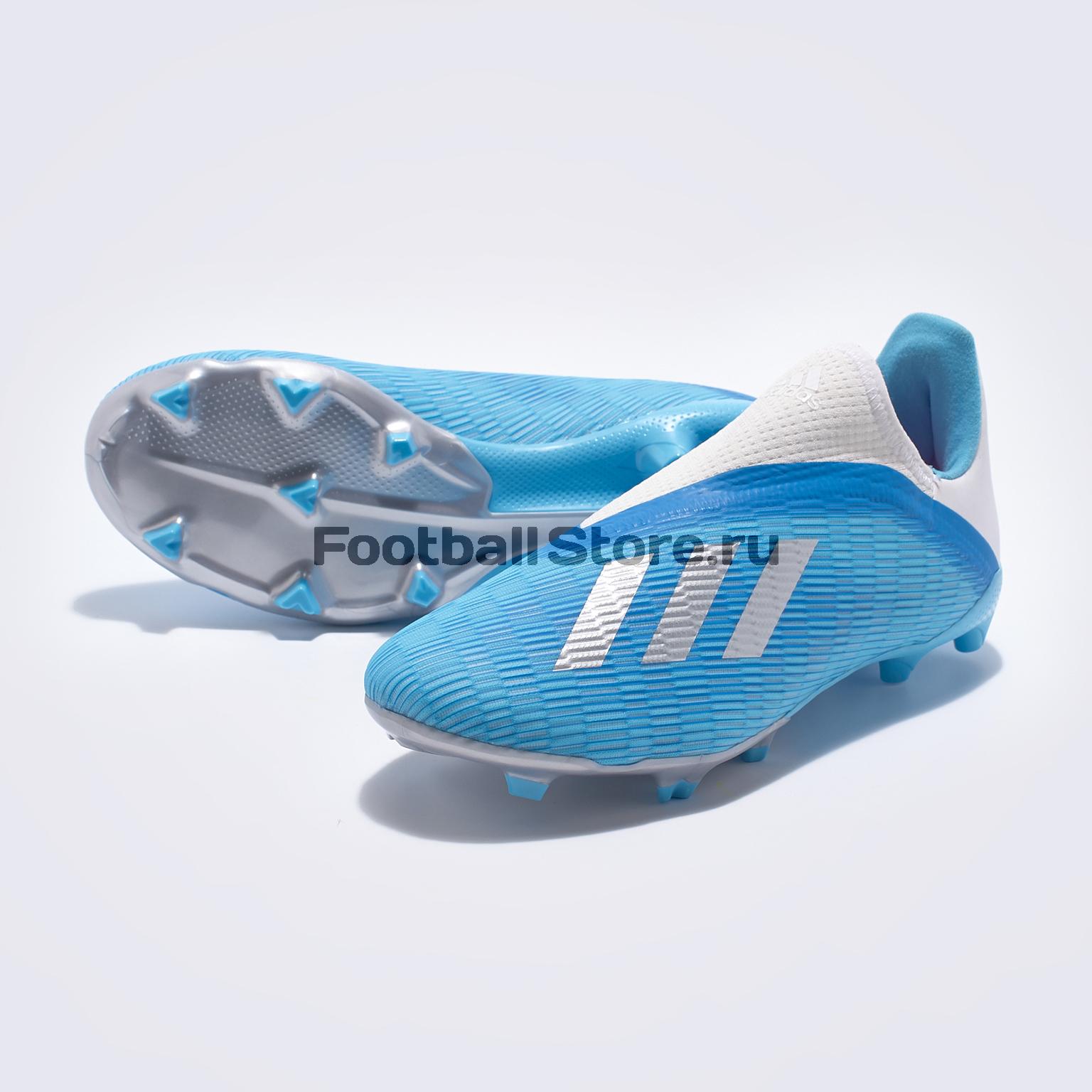 все цены на Бутсы детские Adidas X 19.3 LL FG EF9114 онлайн