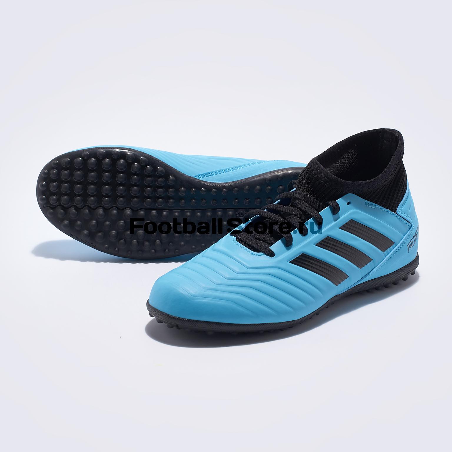Шиповки детские Adidas Predator 19.3 TF G25803 шиповки детские adidas x tango 18 3 tf db2422