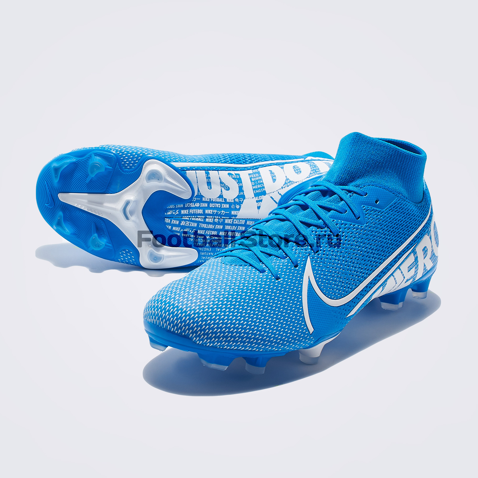 Бутсы Nike Superfly 7 Academy FG/MG AT7946-414 цена