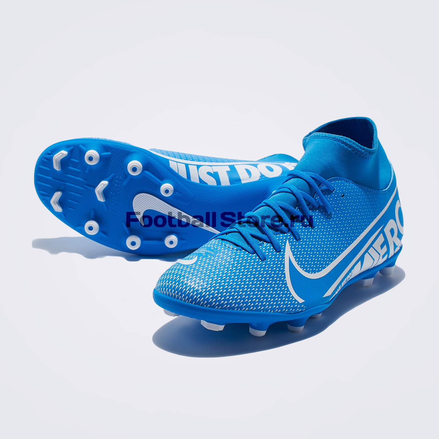 Бутсы Nike Superfly 7 Club FG/MG AT7949-414 бутсы nike superfly 6 club fg mg ah7363 001