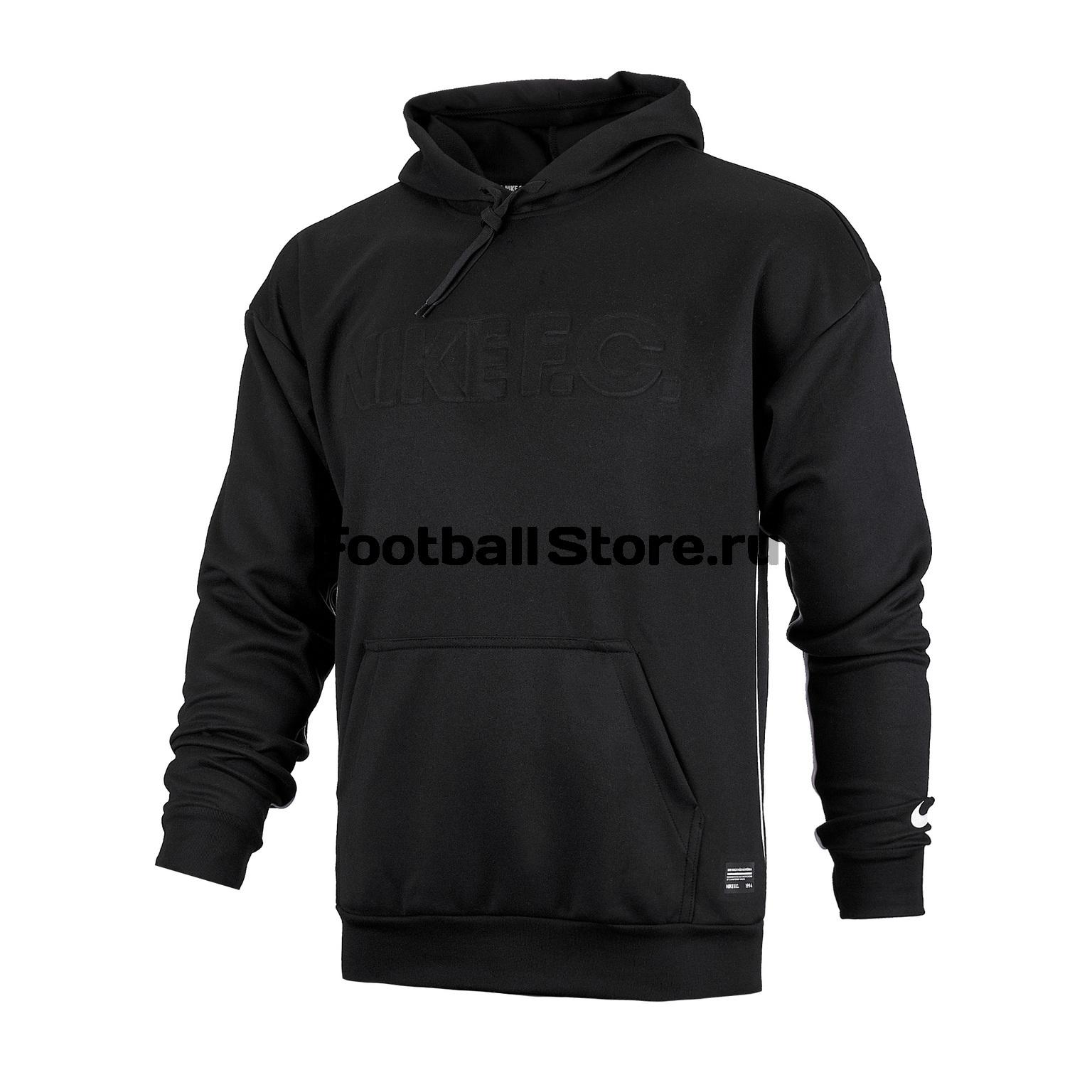 Толстовка Nike F.C. AR8002-010 толстовка nike sportswear hoodie 928719 010