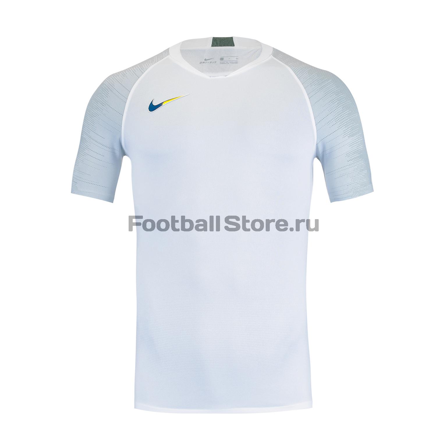 Футболка тренировочная Nike Strike Top AT5870-100 футболка тренировочная nike strike top at5870 010