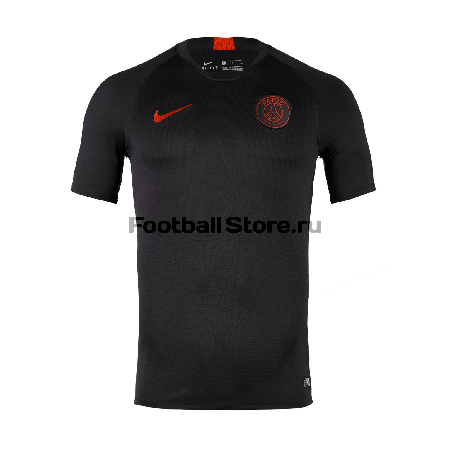 Футболка тренировочная Nike PSG Strike Top AO5147-081 футболка тренировочная nike strike top at5870 010