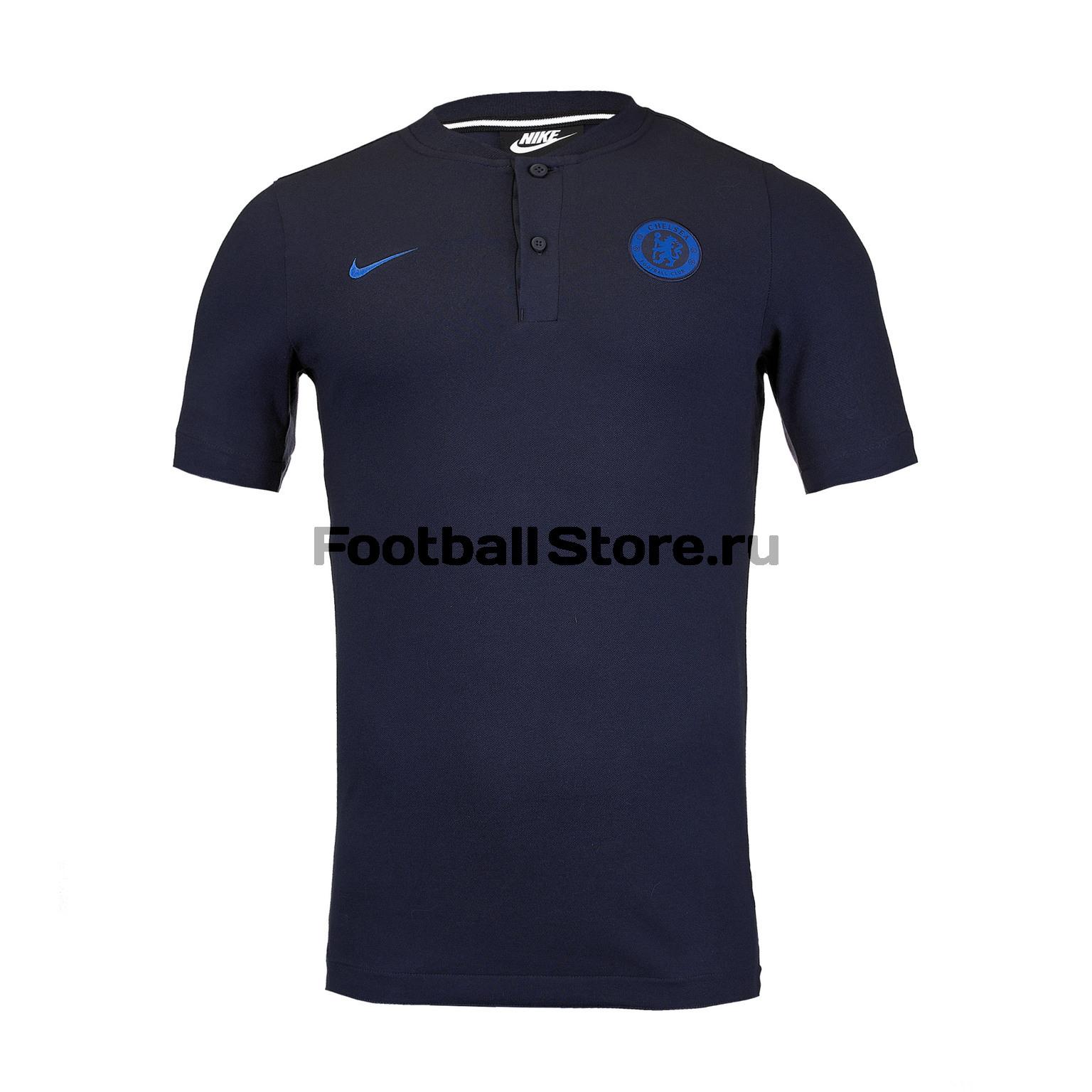 Поло Nike Chelsea AT4327-451 цена в Москве и Питере