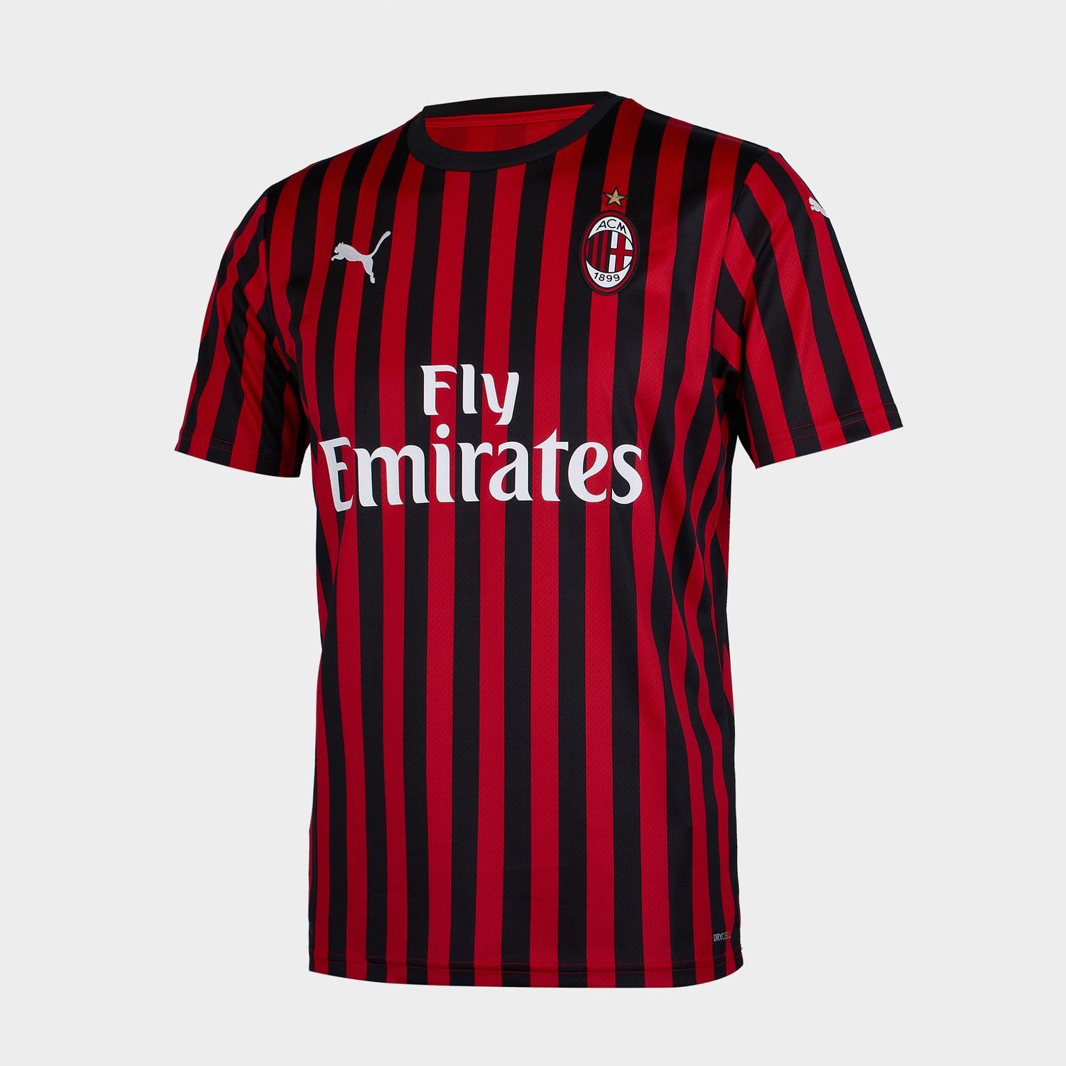 Футболка игровая домашняя Puma AC Milan 2019/20