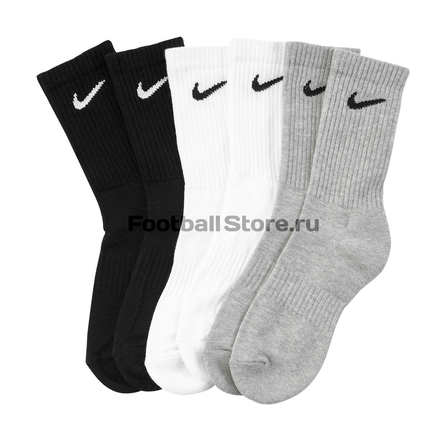 Комплект носков (3 пары) Nike Everyday SX7664-901 цена