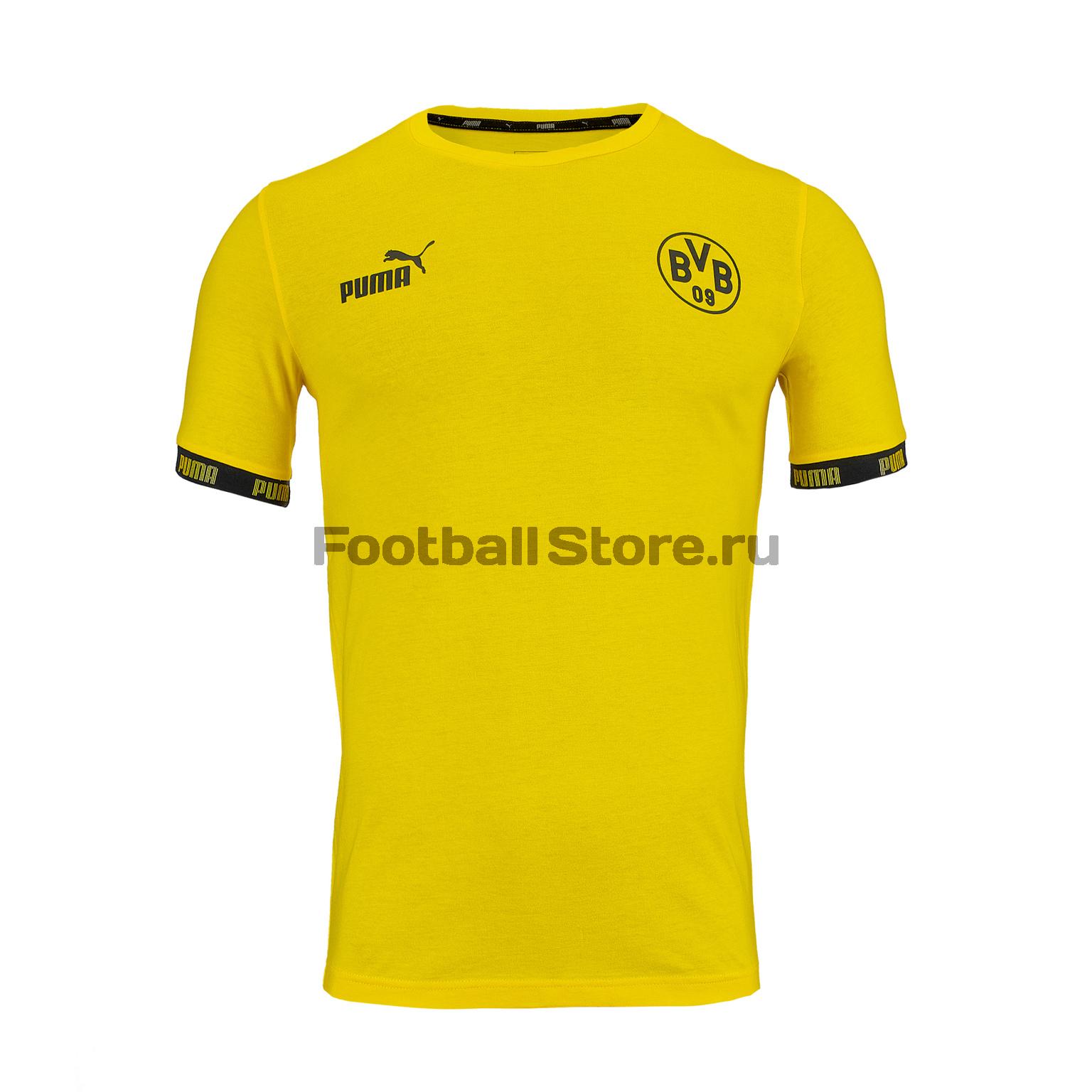 Футболка тренировочная Puma Borussia Culture Tee 75578701 цена 2017