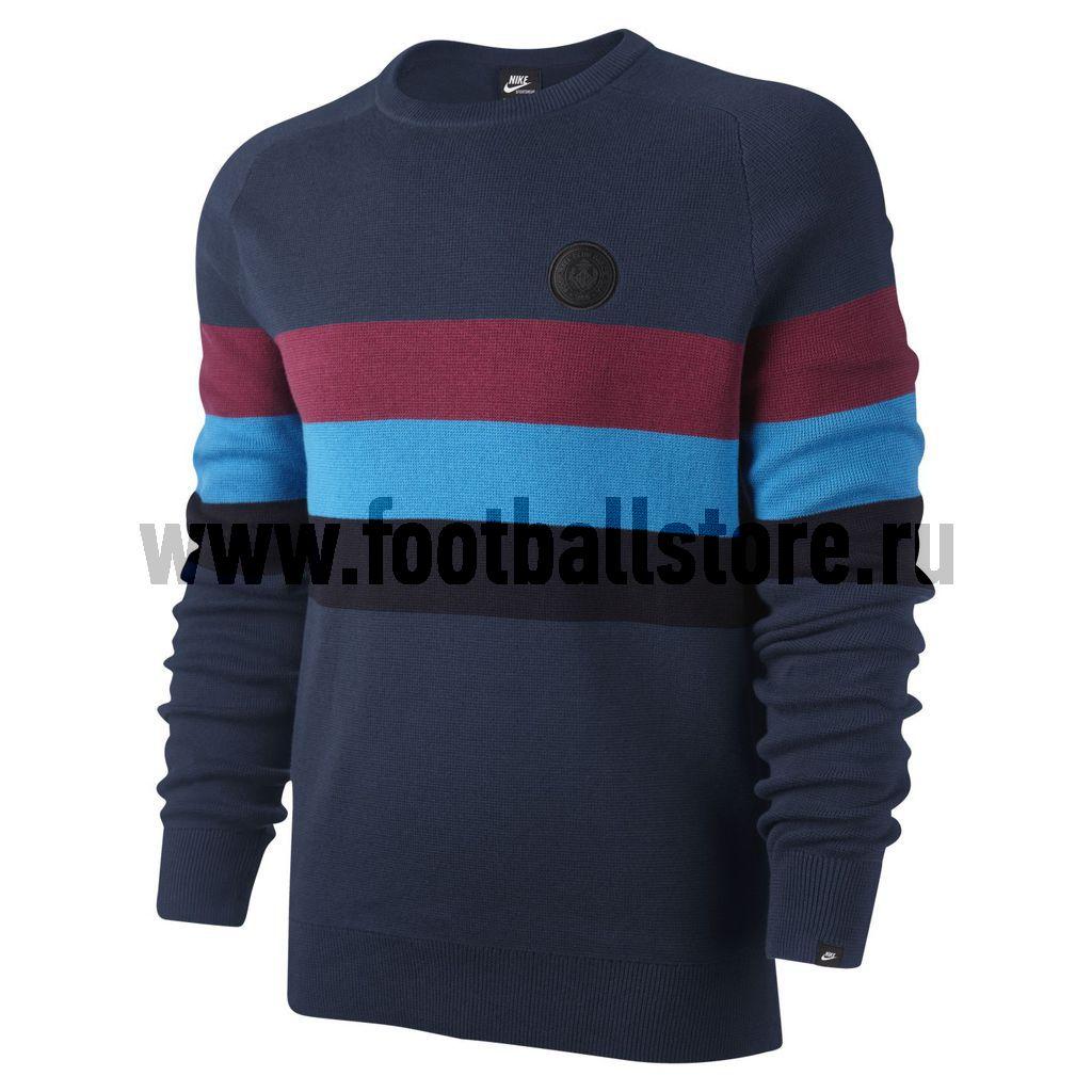 Barcelona Nike Толстовка Nike GF Barcelona Knit Crew 506473-410