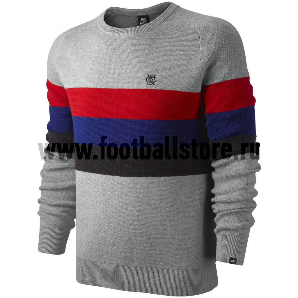 Manchester United Nike Толстовка Nike GF Manchester Knit Crew 506489-063