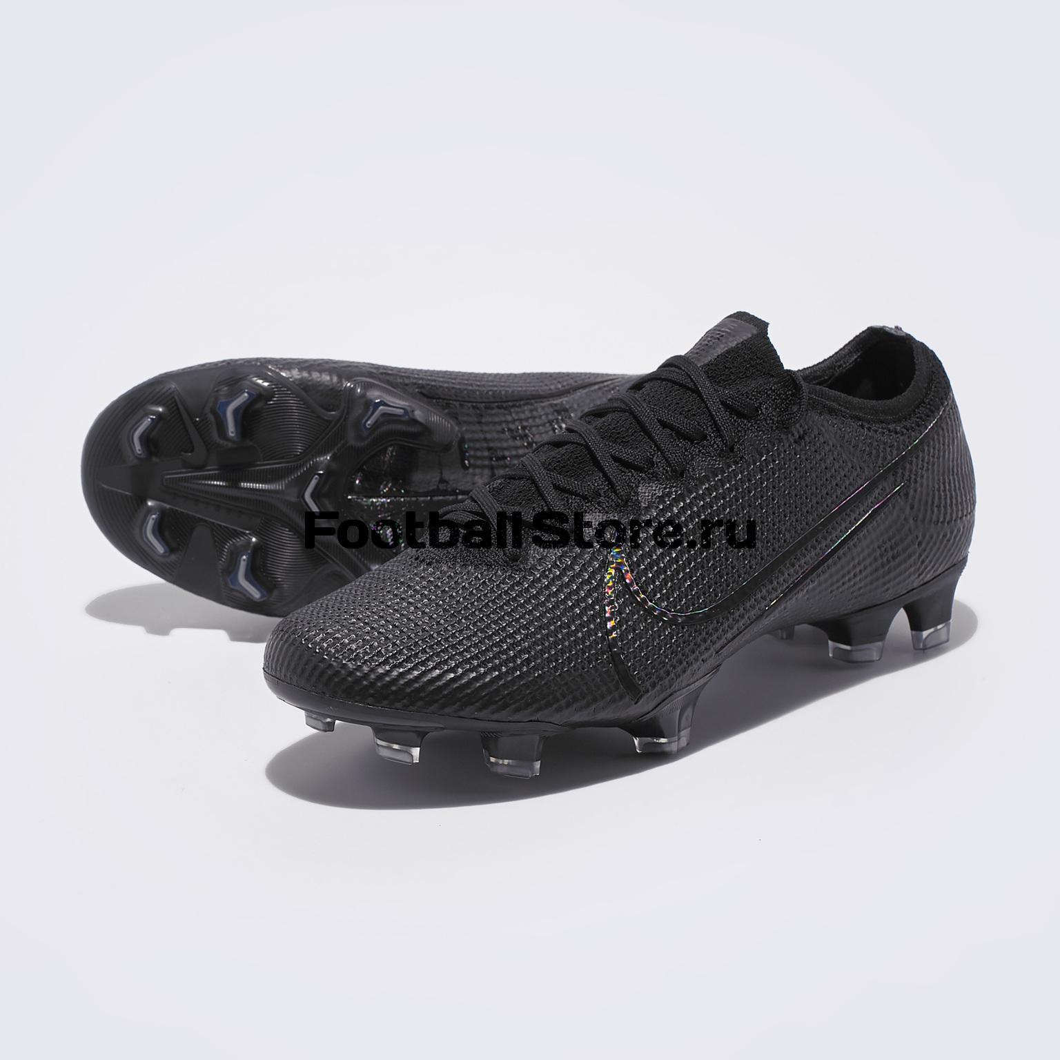 Бутсы Nike Vapor 13 Elite FG AQ4176-001 бутсы nike mercurial vapor xi neymar fg 921547 407