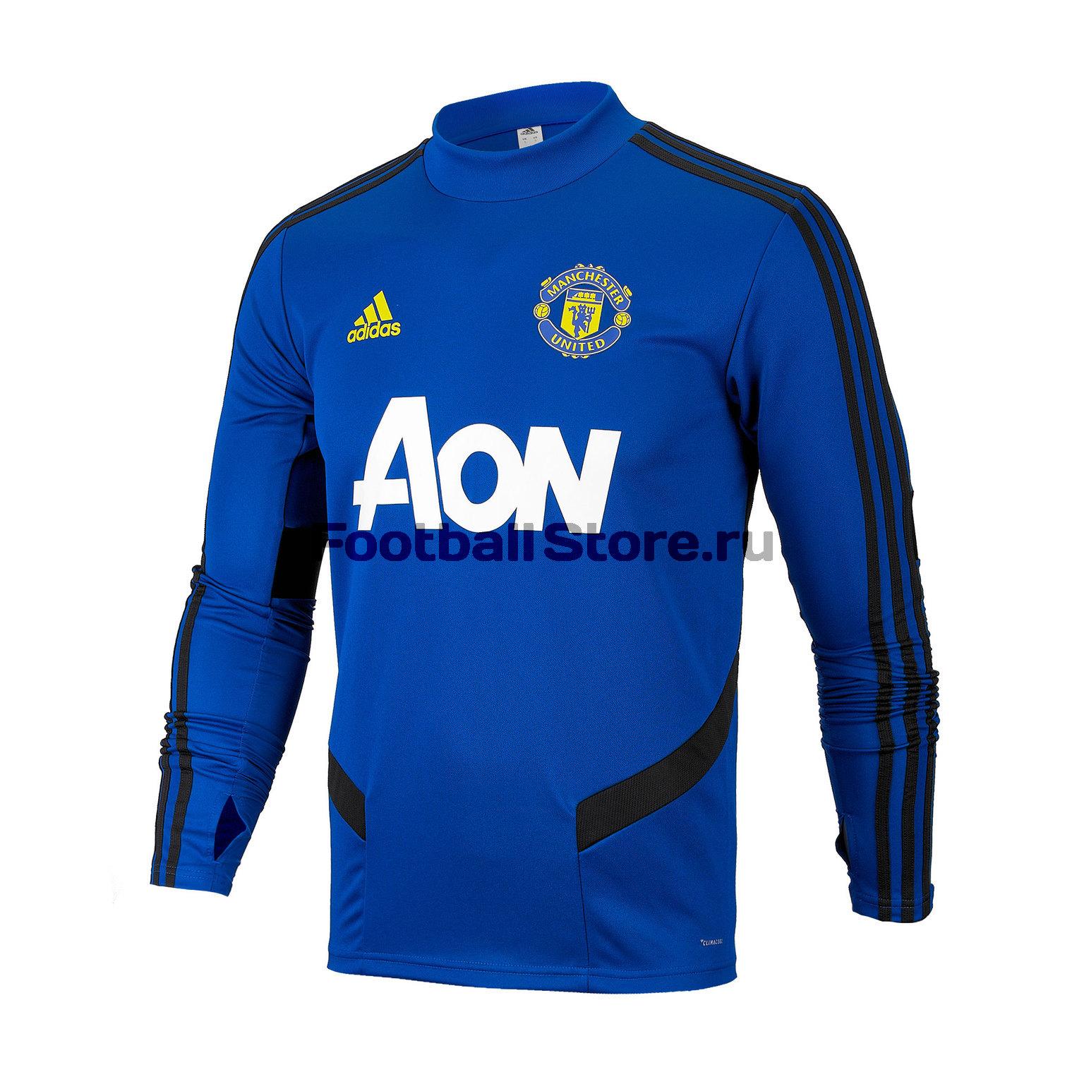 Свитер тренировочный Adidas Manchester United DX9036 шарф болельщика adidas manchester united scarf cy5578