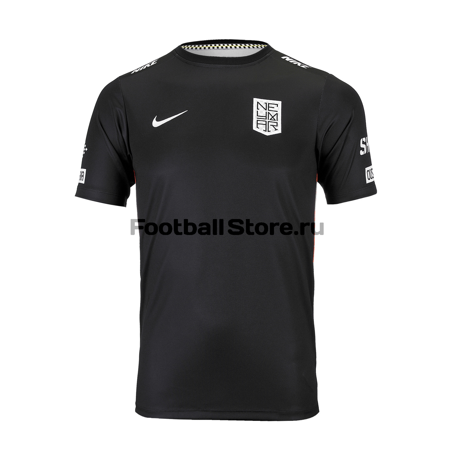 Футболка подростковая Nike Neymar Dry Top SS AT5726-010 футболка nike dry academy top gx at5714 010