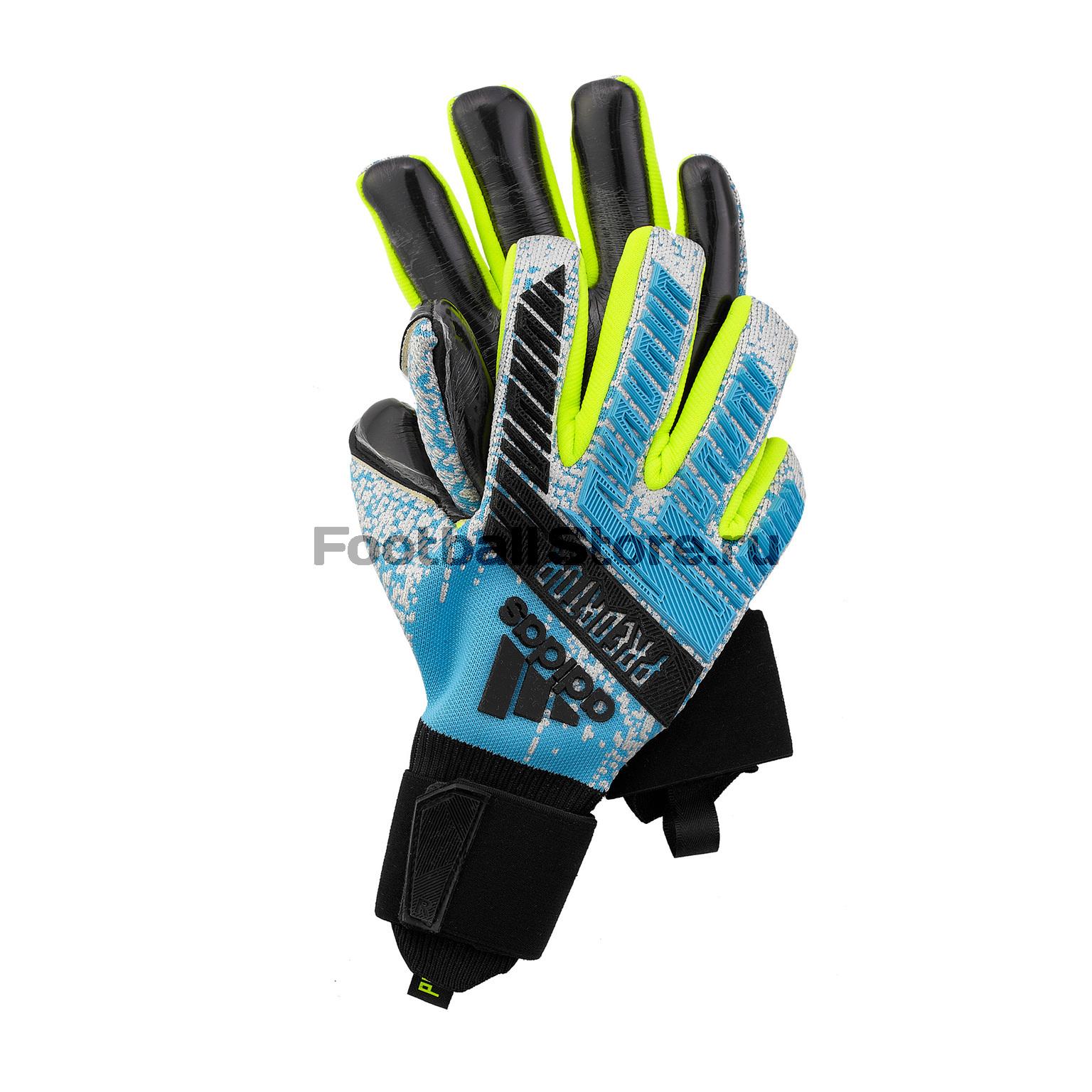 Перчатки вратарские Adidas Predator Pro DY2595 цена