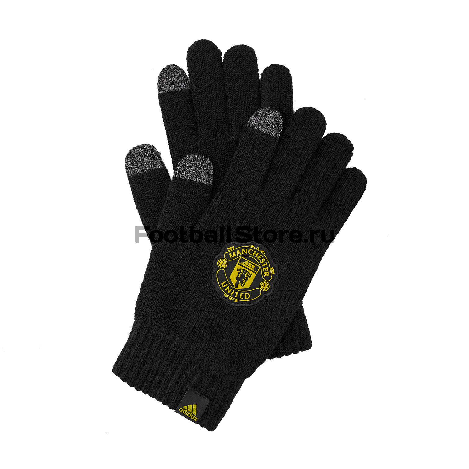 цена на Перчатки тренировочные Adidas Manchester United DY7699
