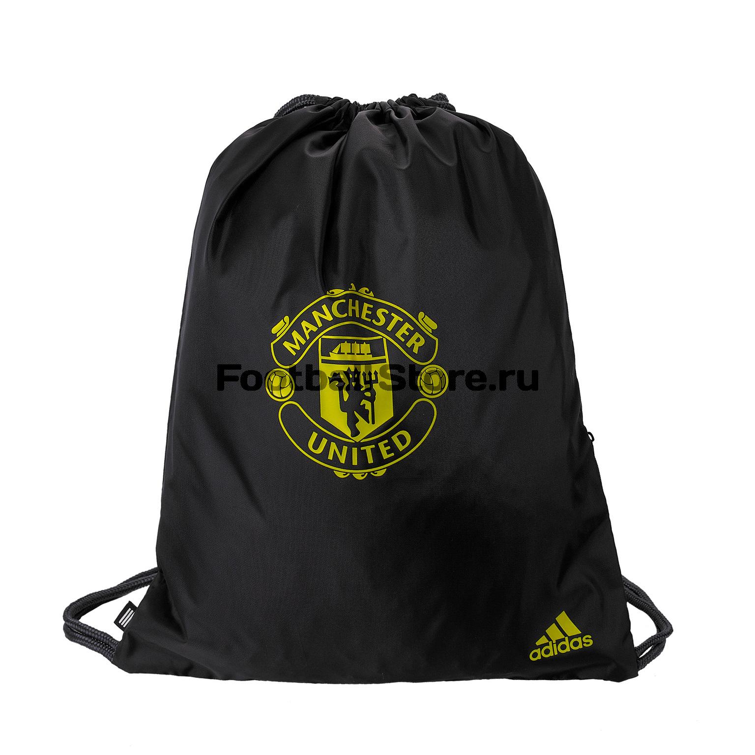 Сумка для обуви Adidas Manchester United DY7689 шарф болельщика adidas manchester united scarf cy5578