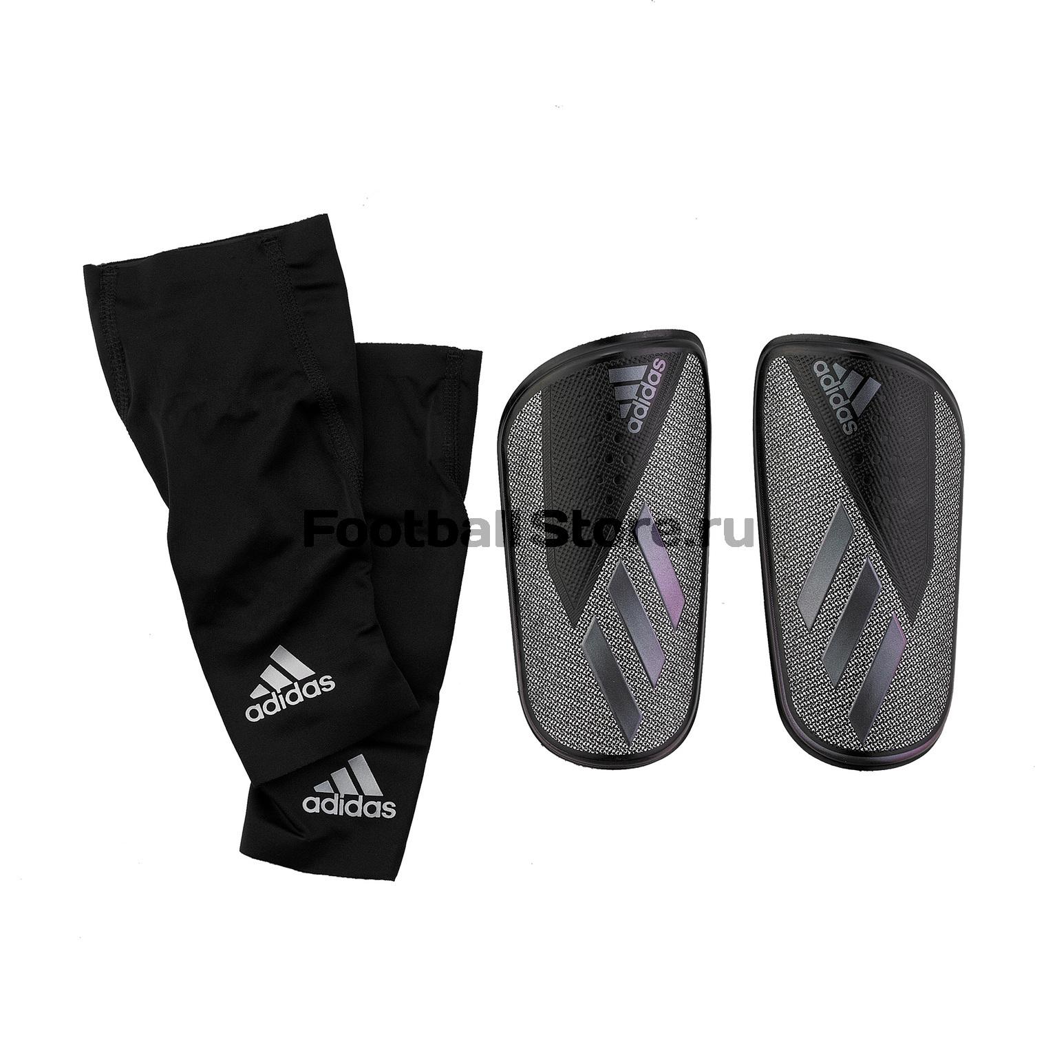 Щитки Adidas X Foil DX7747 щитки футбольные adidas x lesto dy2578 серебристый размер m