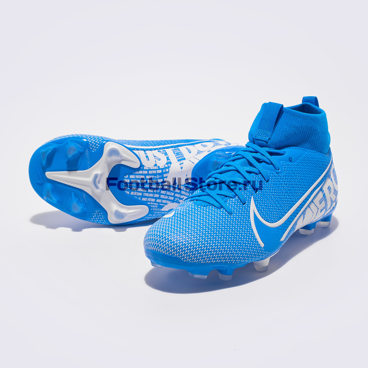 Бутсы детские Nike Superfly 7 Academy FG/MG AT8120-414 бутсы nike superfly 6 club fg mg ah7363 001