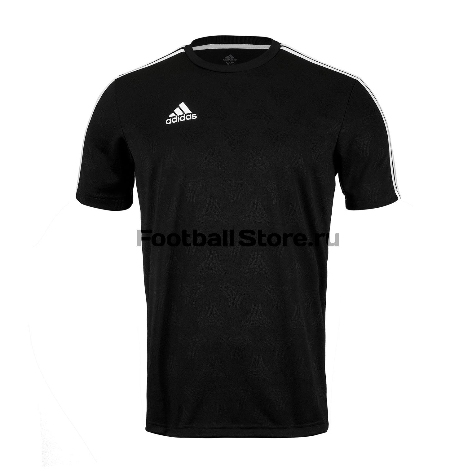 цена Футболка тренировочная Adidas Tan Jacquard DT9423 онлайн в 2017 году