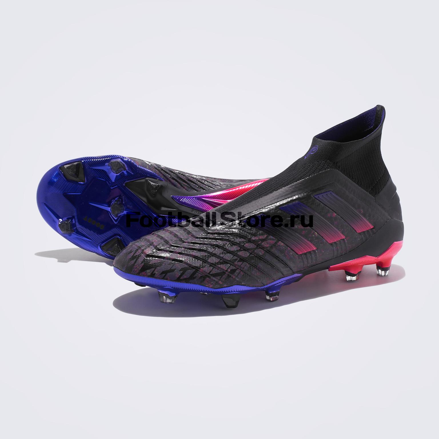Бутсы Adidas Predator 19+ FG PP EE7844 бутсы adidas predator 18 3 fg db2001