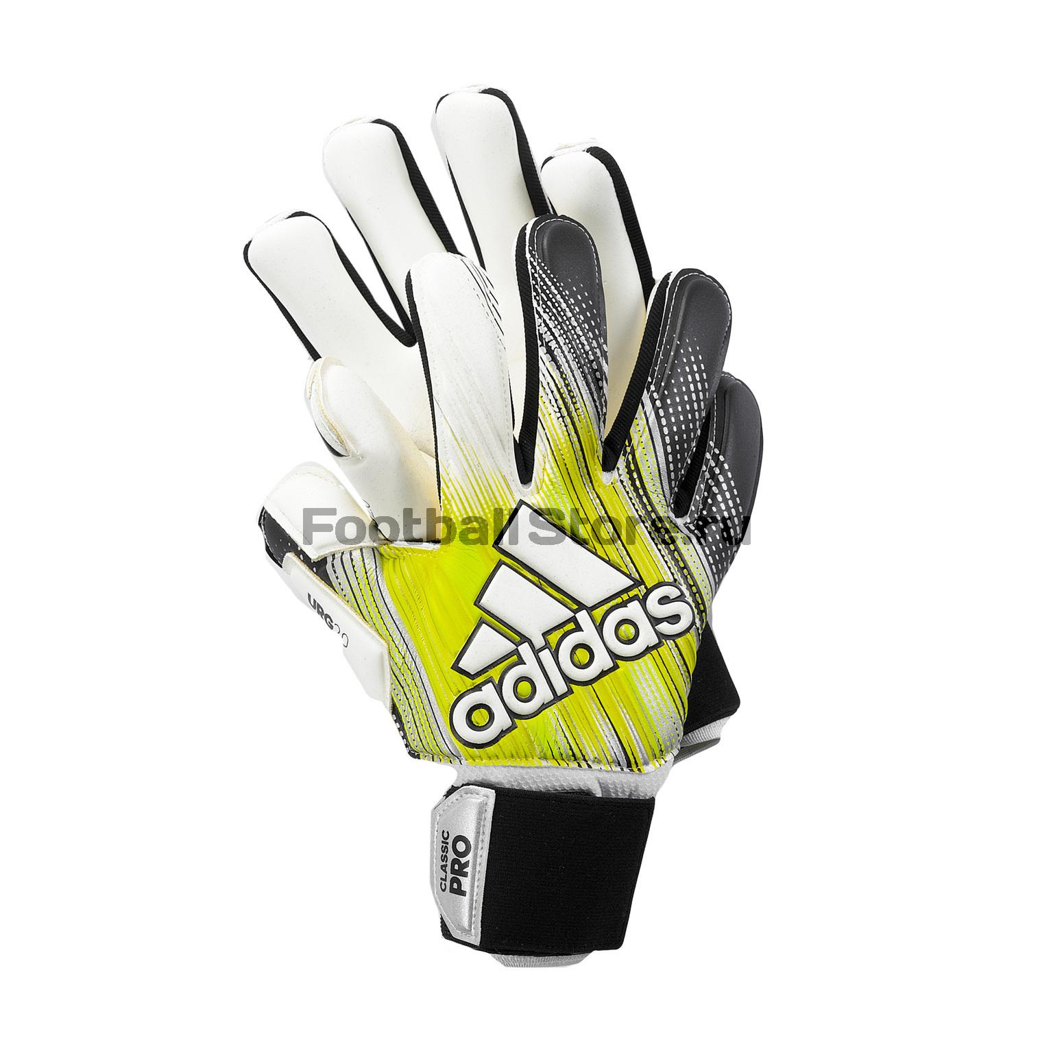 Перчатки вратарские Adidas Classic Pro DY2631 цена