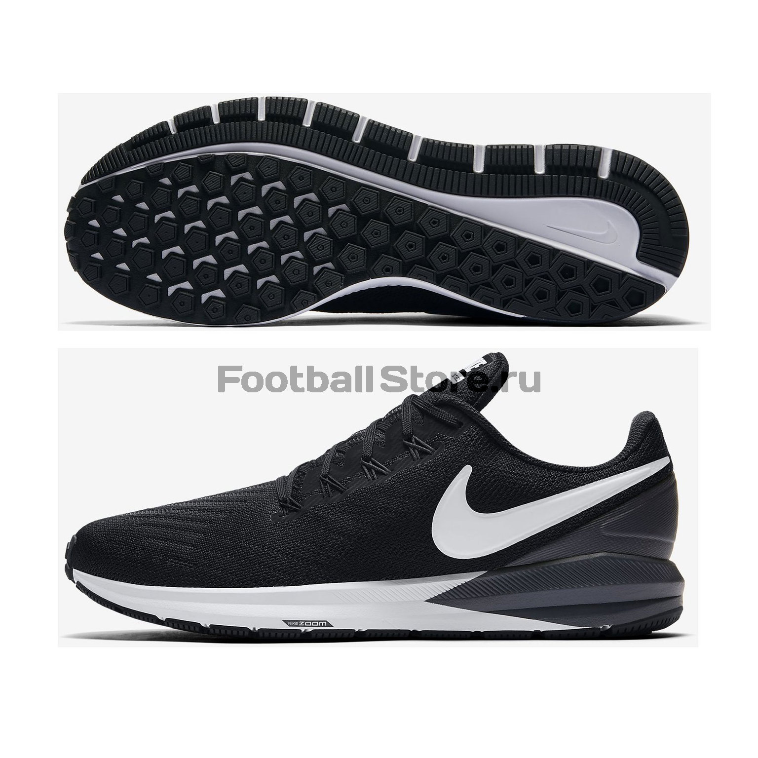 Кроссовки Nike Air Zoom Structure 22 AA1636-001 цена