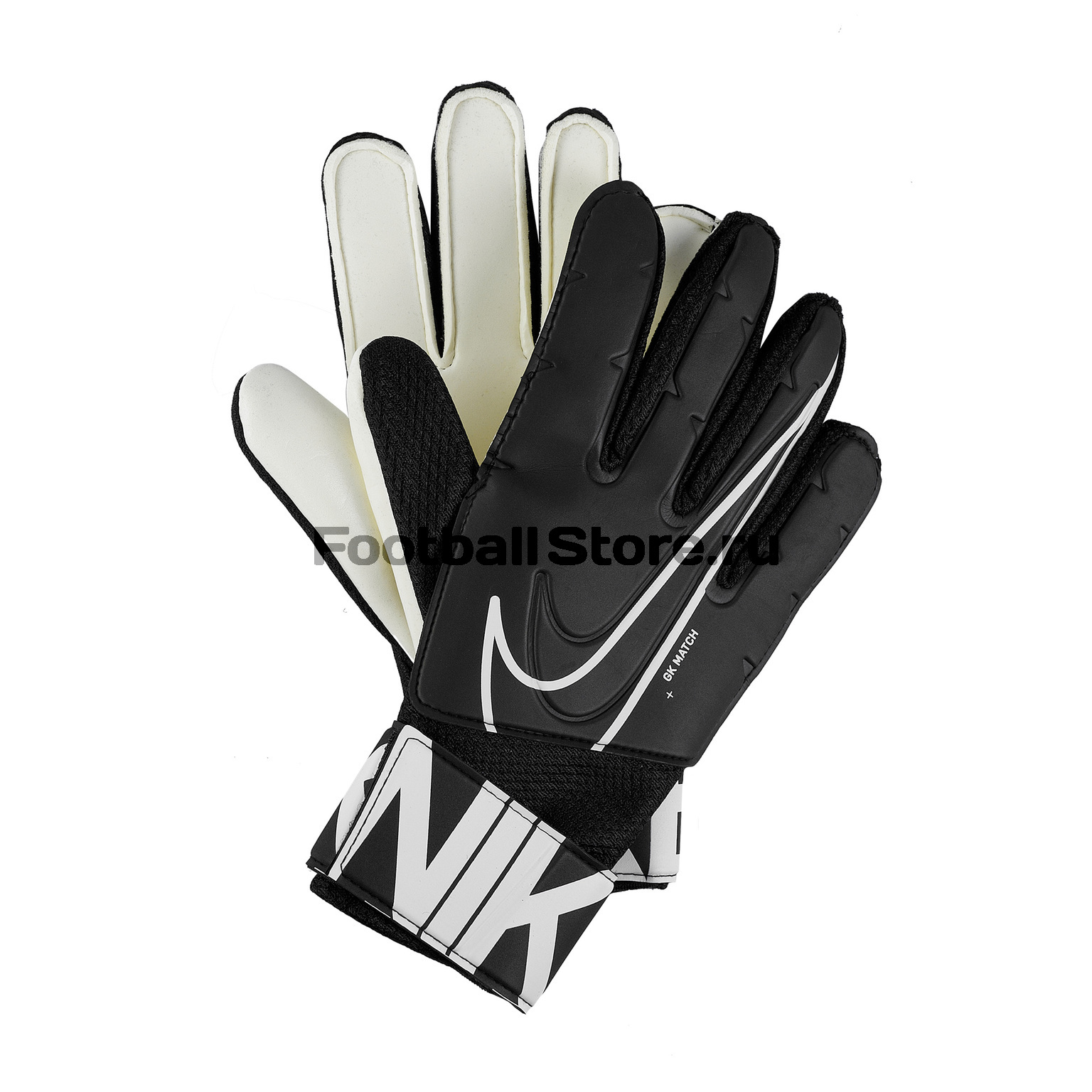 цена Перчатки вратарские Nike Match GS3882-010 в интернет-магазинах