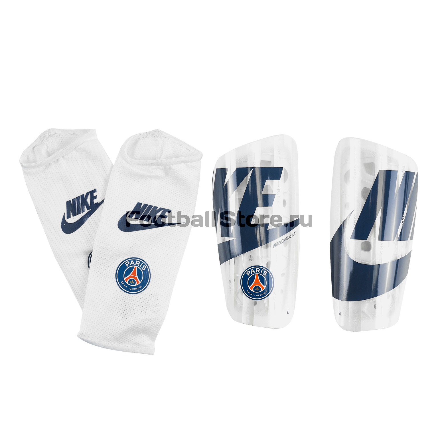 Щитки Nike PSG Mercurial Lite SP2173-100 цена 2017