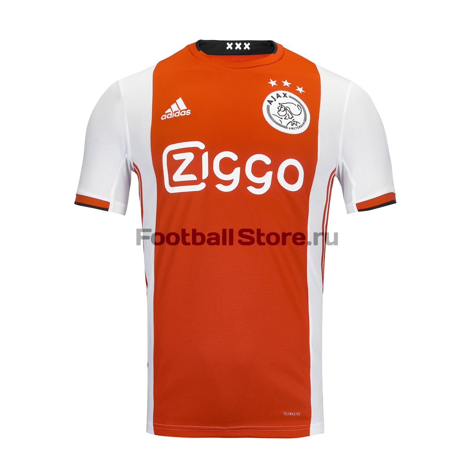 Футболка домашняя игровая Adidas Ajax 2019/20